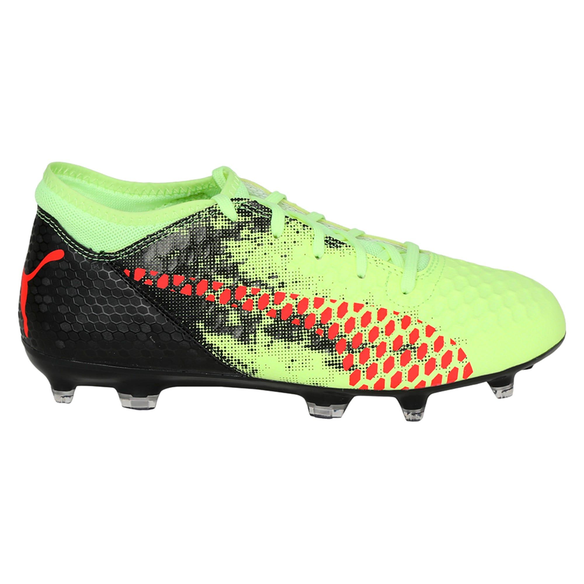 Thumbnail 5 of FUTURE 18.4 FG/AG Jr Football Boots, Yellow-Red-Black, medium-IND