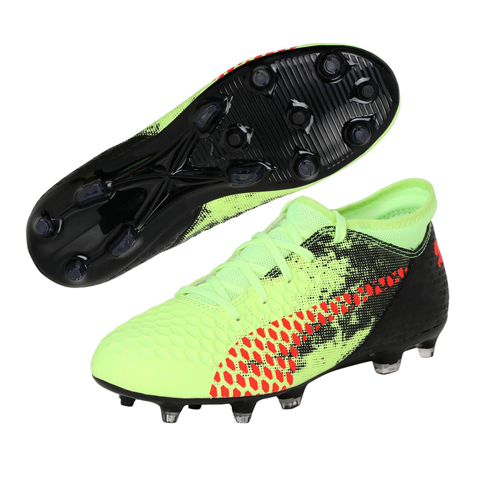 Thumbnail 6 of FUTURE 18.4 FG/AG Jr Football Boots, Yellow-Red-Black, medium-IND