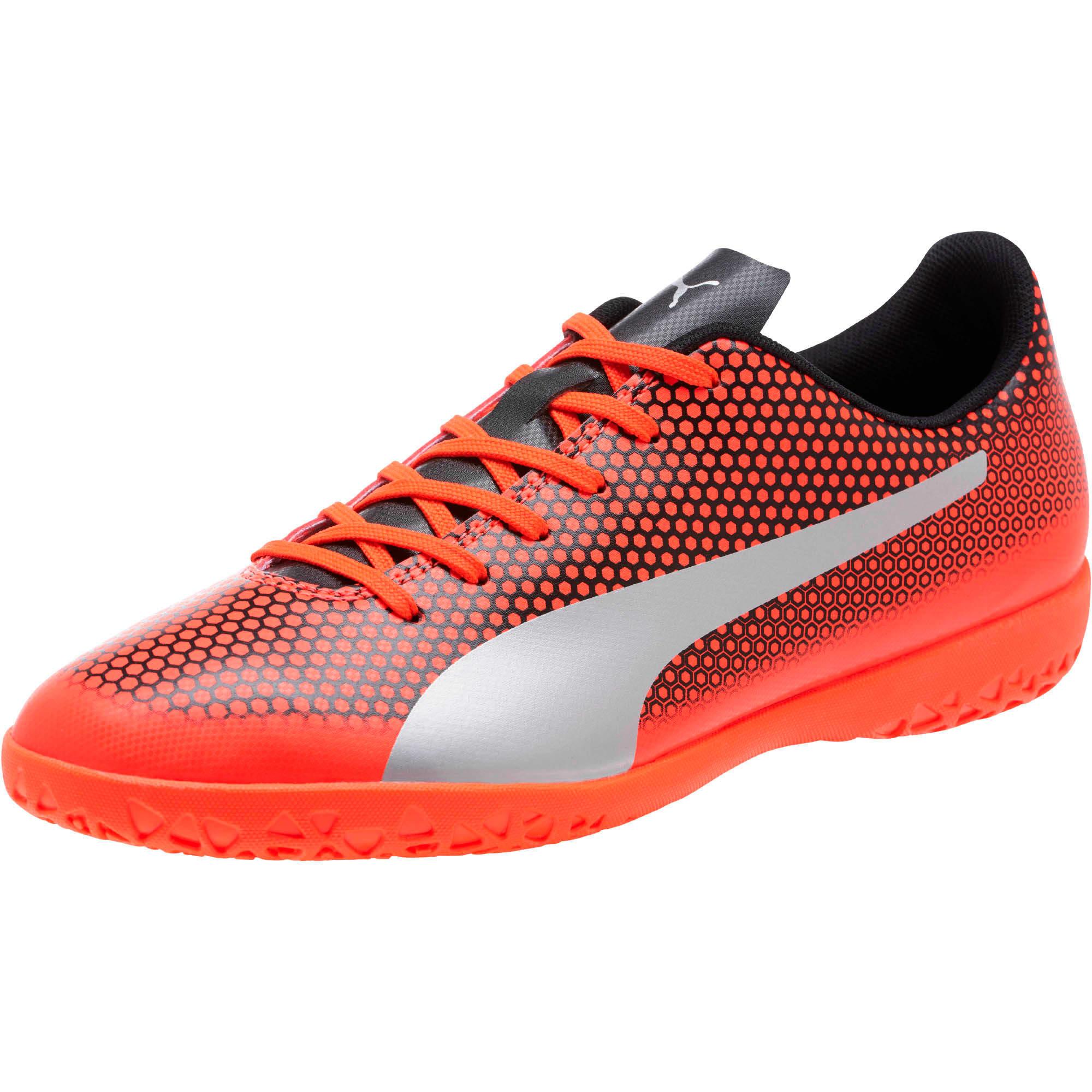 Thumbnail 1 of PUMA Spirit IT Men's Soccer Shoes, Red-Silver-Black, medium