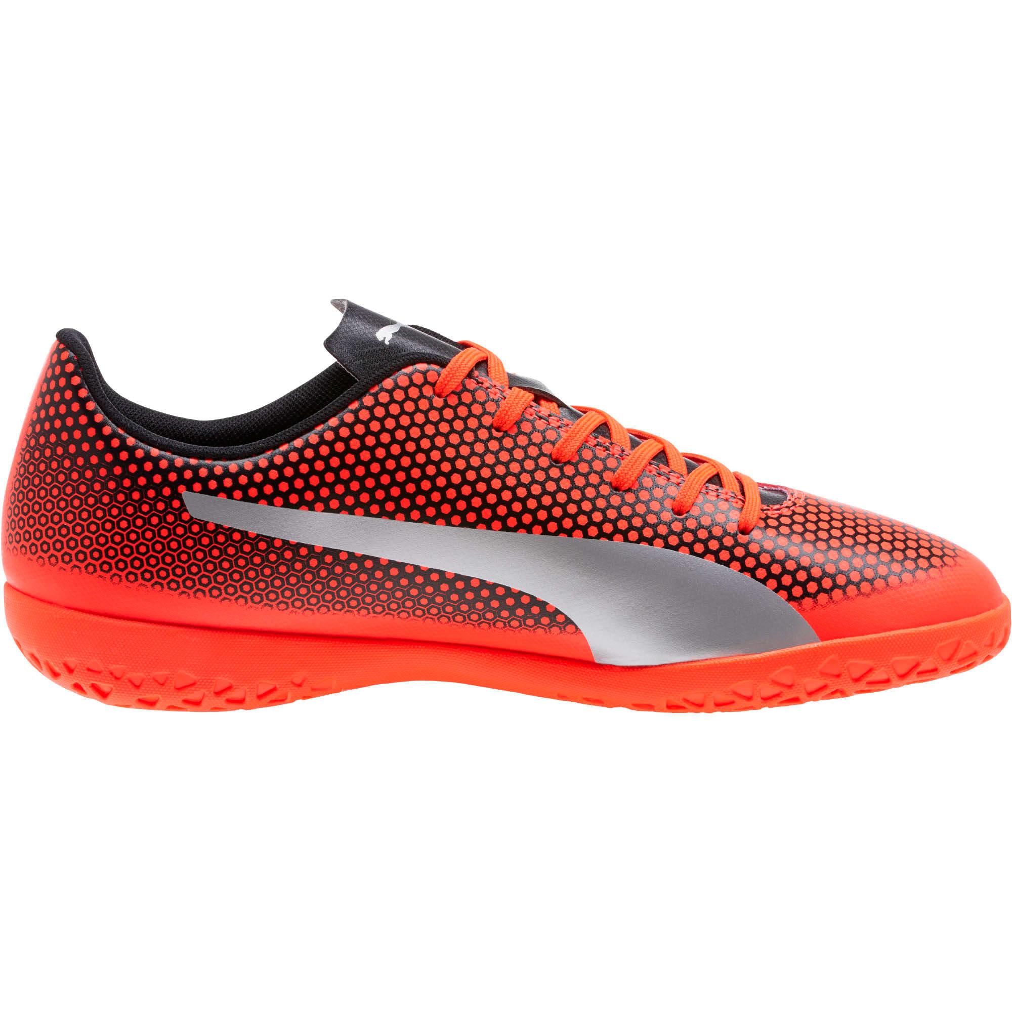 Thumbnail 3 of PUMA Spirit IT Men's Soccer Shoes, Red-Silver-Black, medium