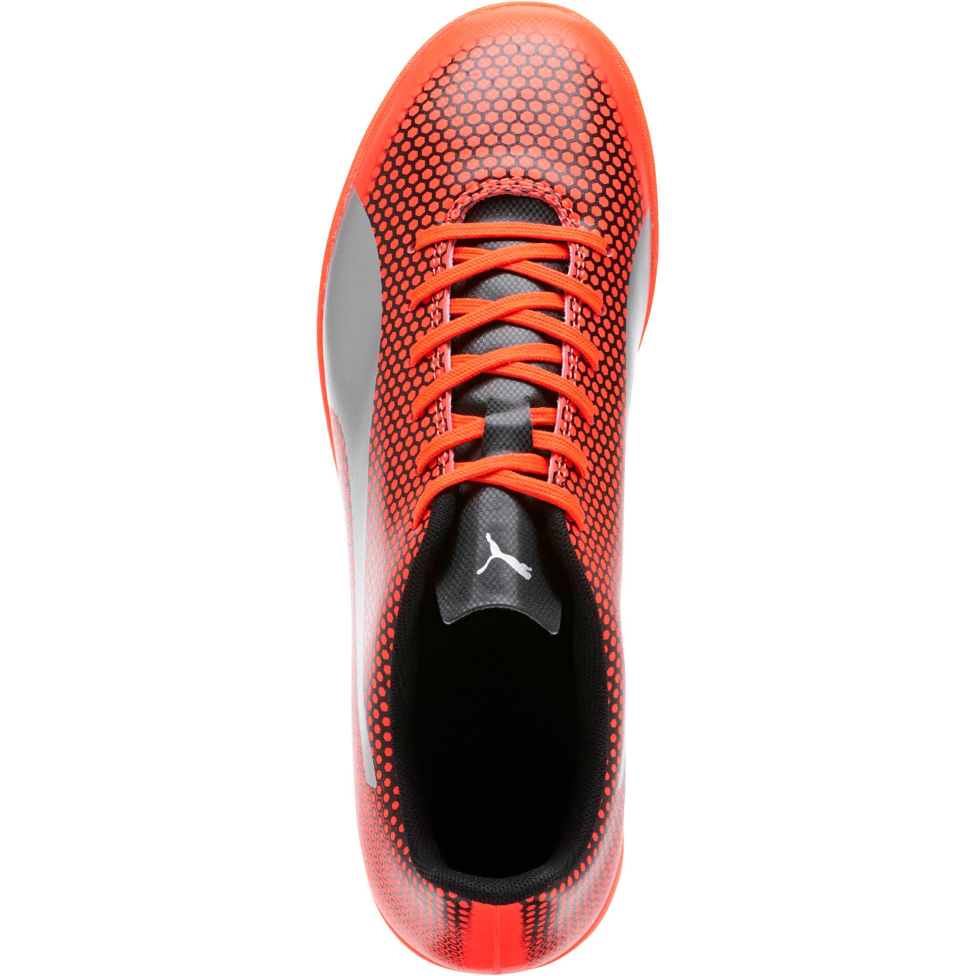 Thumbnail 5 of PUMA Spirit IT Men's Soccer Shoes, Red-Silver-Black, medium