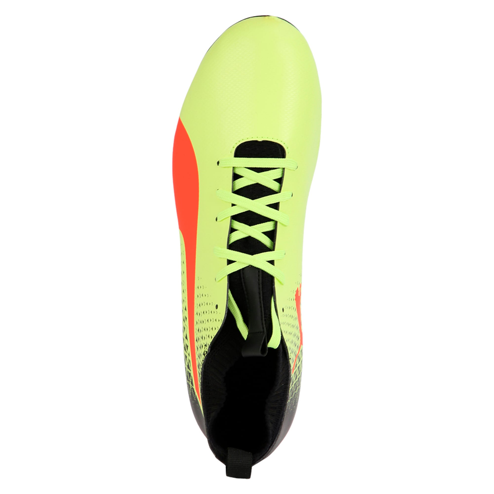 Thumbnail 4 of evoKNIT FG Men's Football Boots, Yellow-Red-Black, medium-IND