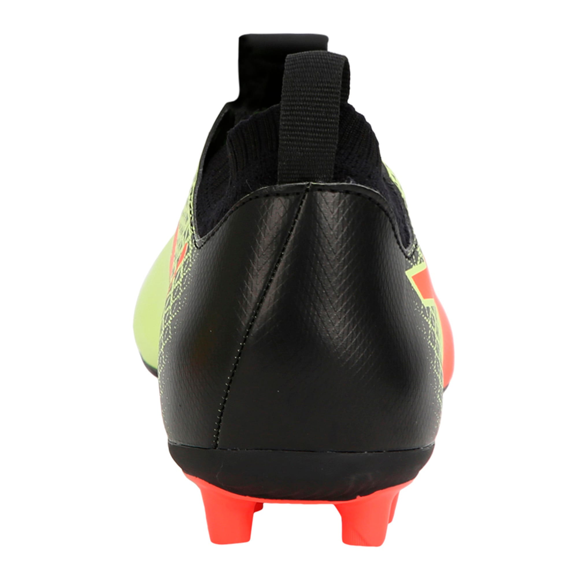 Thumbnail 5 of evoKNIT FG Men's Football Boots, Yellow-Red-Black, medium-IND
