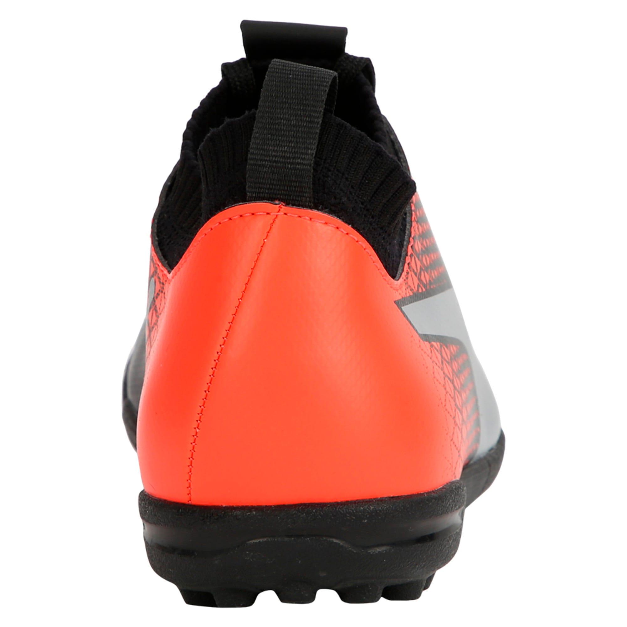 Thumbnail 3 of evoKNIT TT Men's Football Shoes, Black-Silver-Red, medium-IND