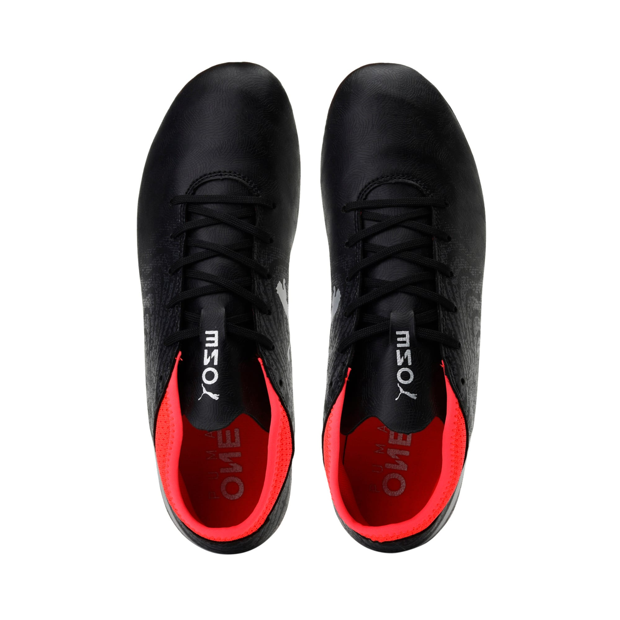 Thumbnail 6 of ONE 18.4 FG Men's Football Boots, Black-Silver-Red, medium-IND