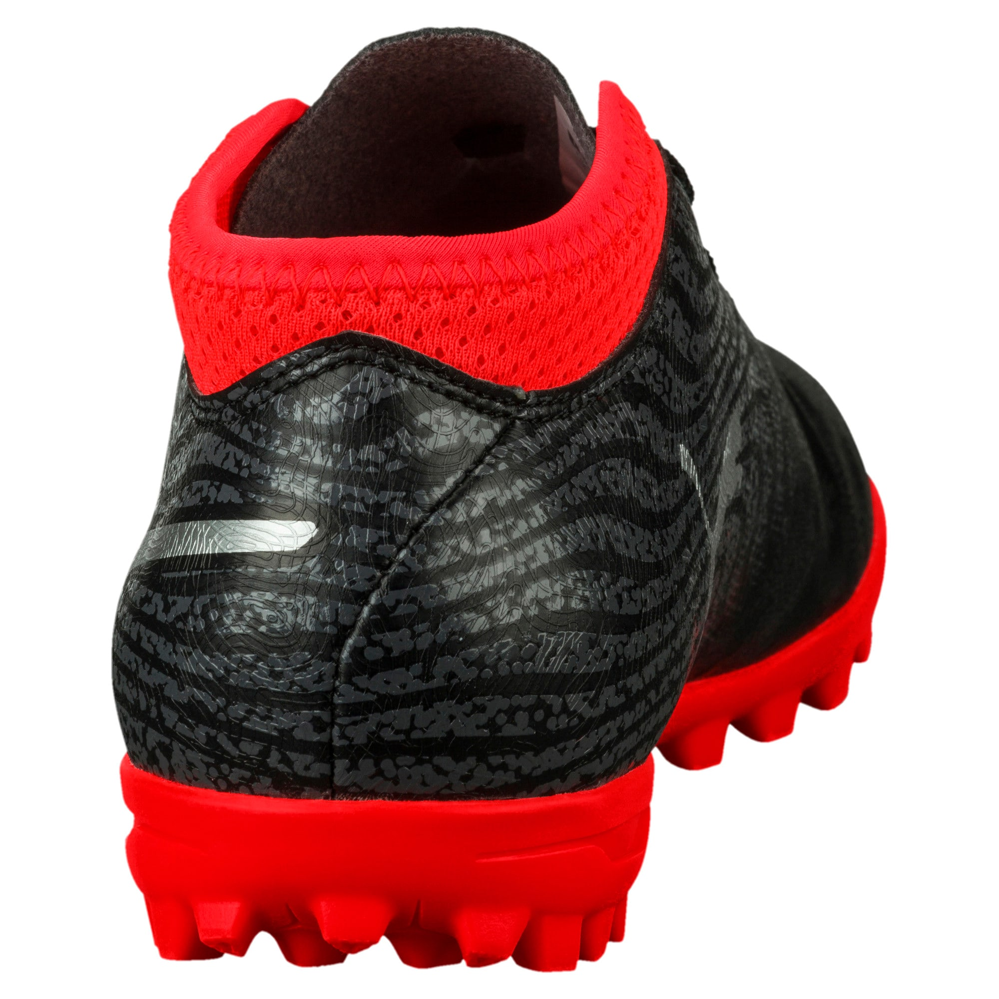 Thumbnail 4 of ONE 18.4 TT Jr Football Boots, Black-Silver-Red, medium-IND