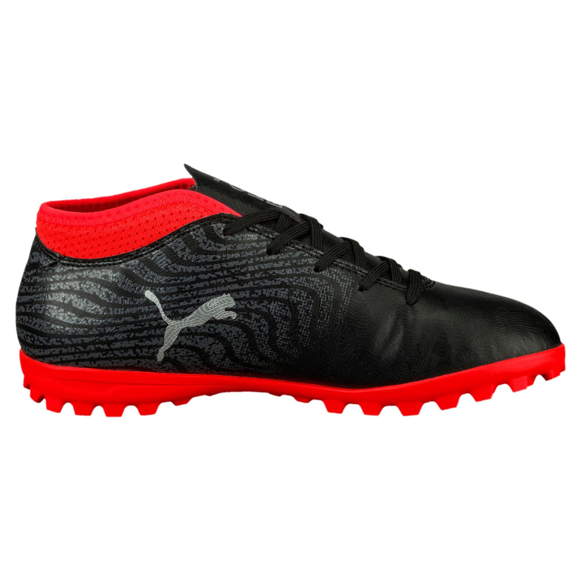 Thumbnail 3 of ONE 18.4 TT Jr Football Boots, Black-Silver-Red, medium-IND