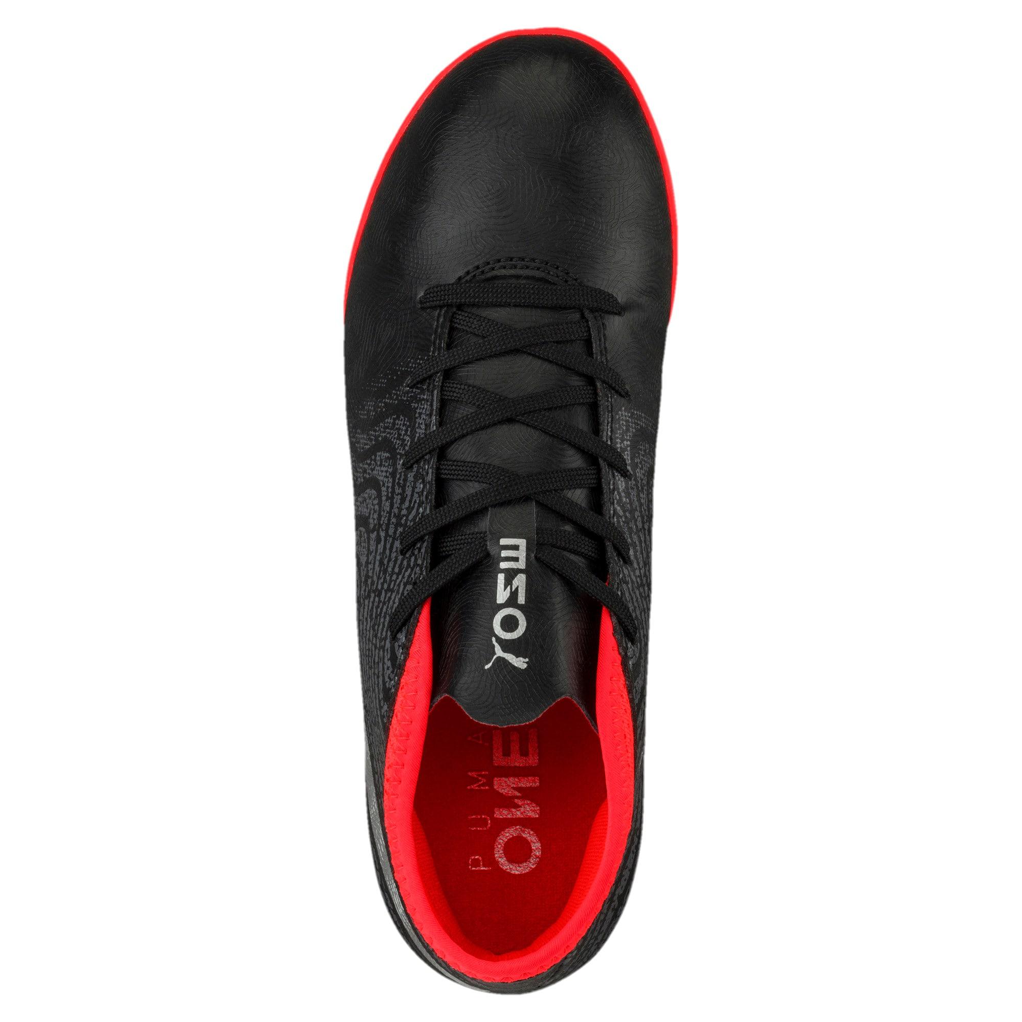 Thumbnail 5 of ONE 18.4 TT Jr Football Boots, Black-Silver-Red, medium-IND