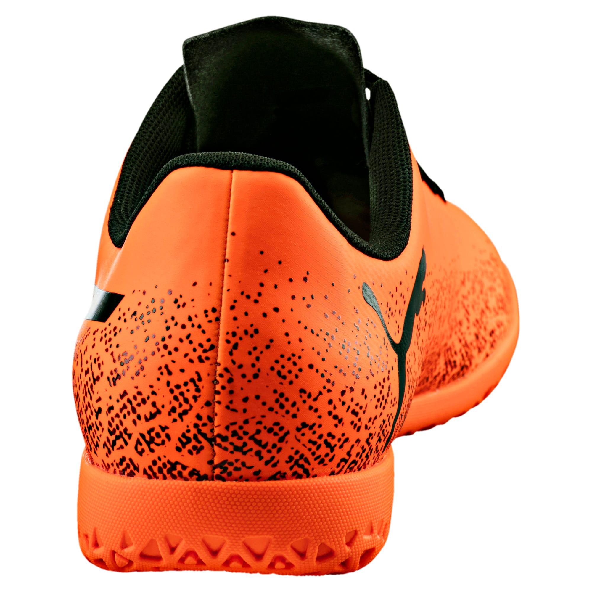 Thumbnail 4 of Truora IT Men's Indoor Training Shoes, Orange-Black-Cordovan, medium-IND