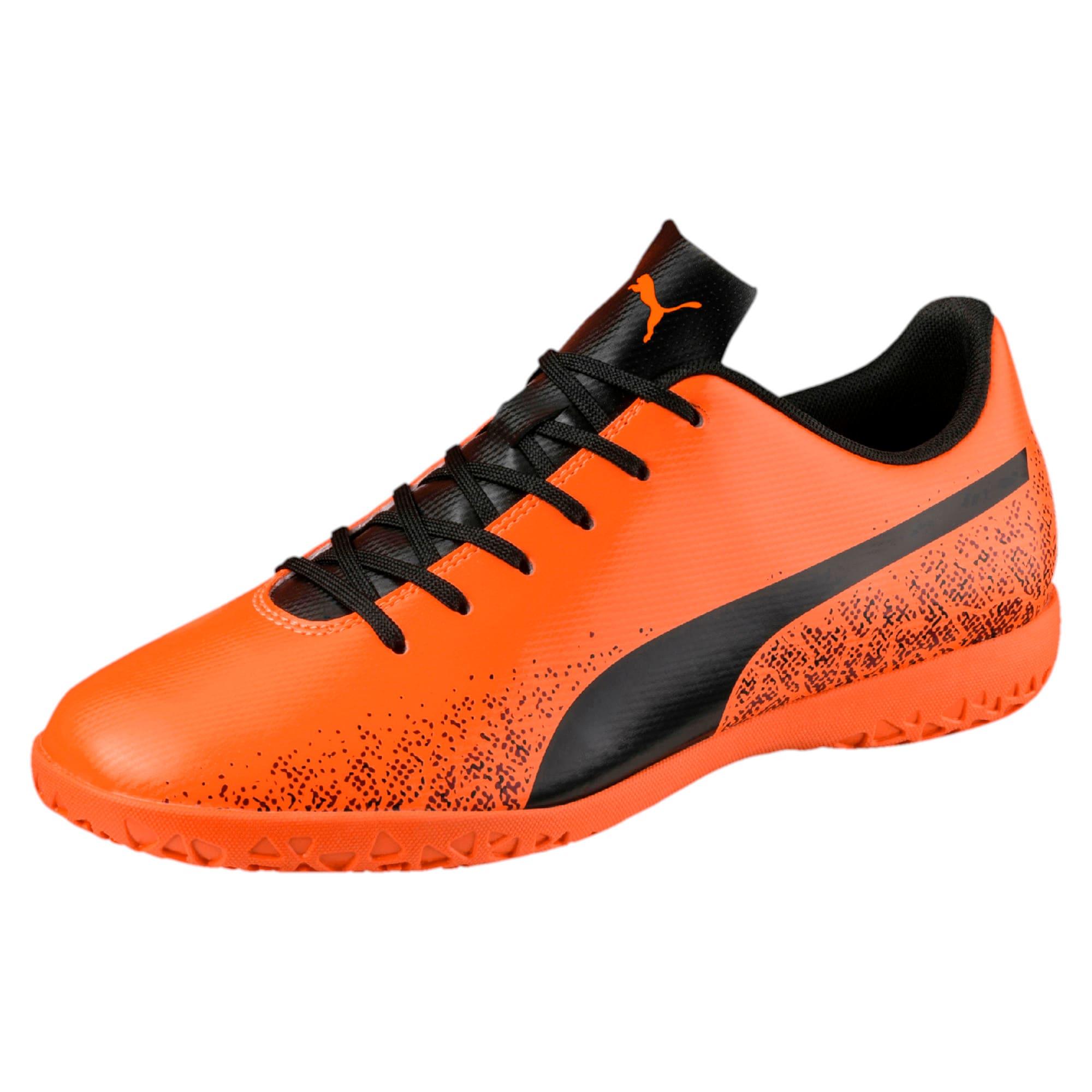Thumbnail 1 of Truora IT Men's Indoor Training Shoes, Orange-Black-Cordovan, medium-IND