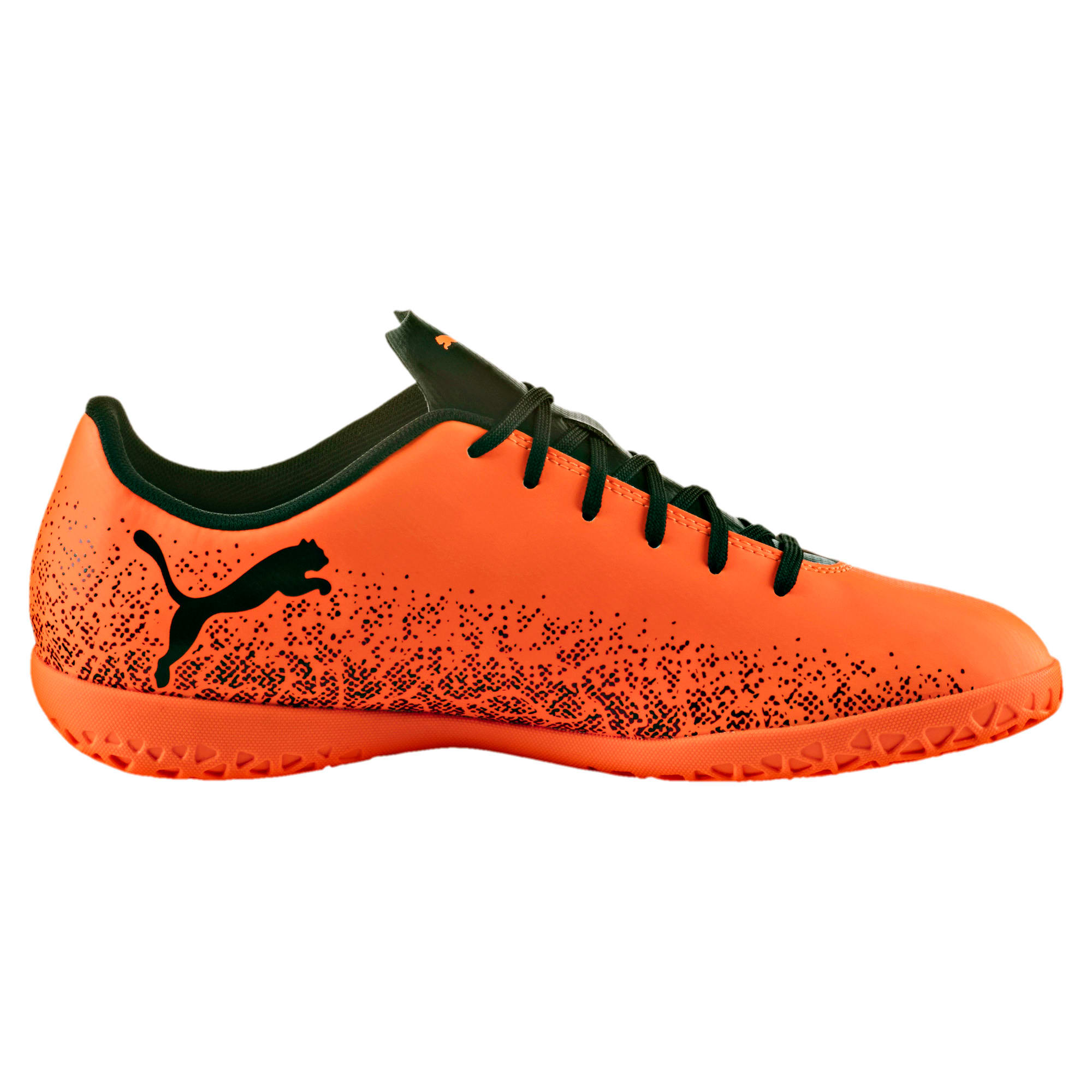 Thumbnail 5 of Truora IT Men's Indoor Training Shoes, Orange-Black-Cordovan, medium-IND