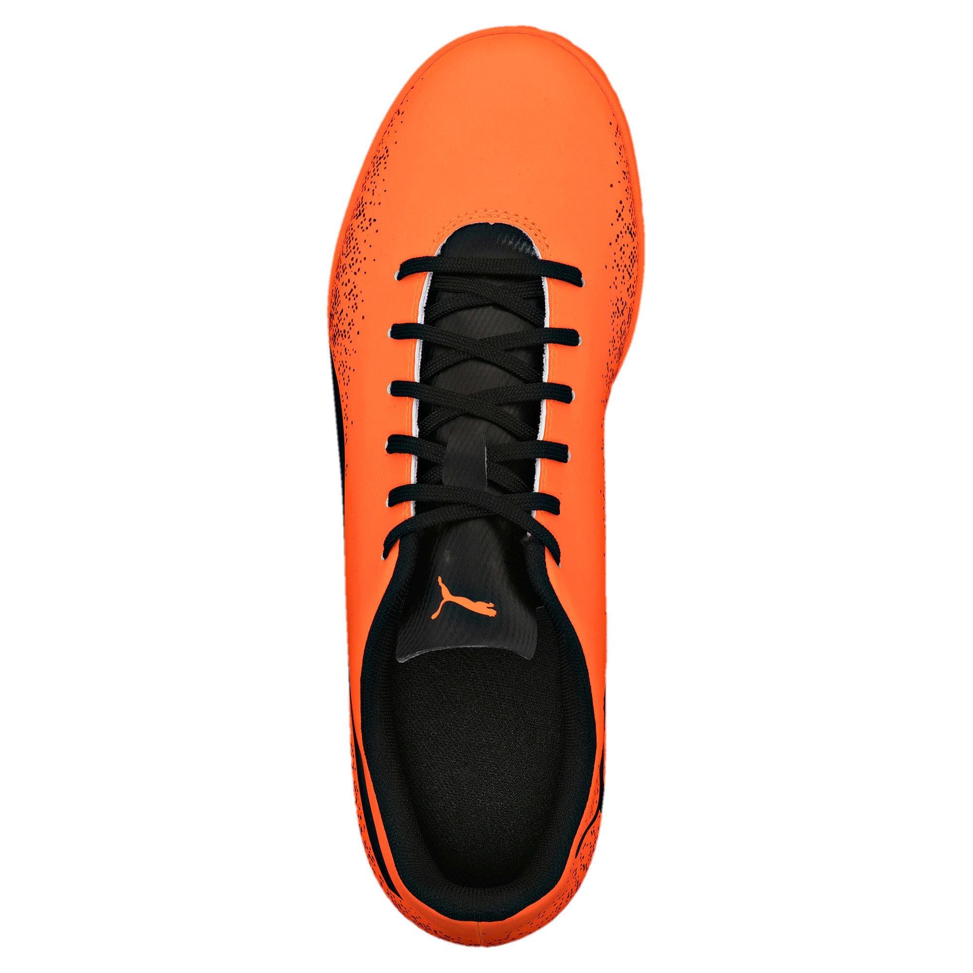 Thumbnail 3 of Truora IT Men's Indoor Training Shoes, Orange-Black-Cordovan, medium-IND