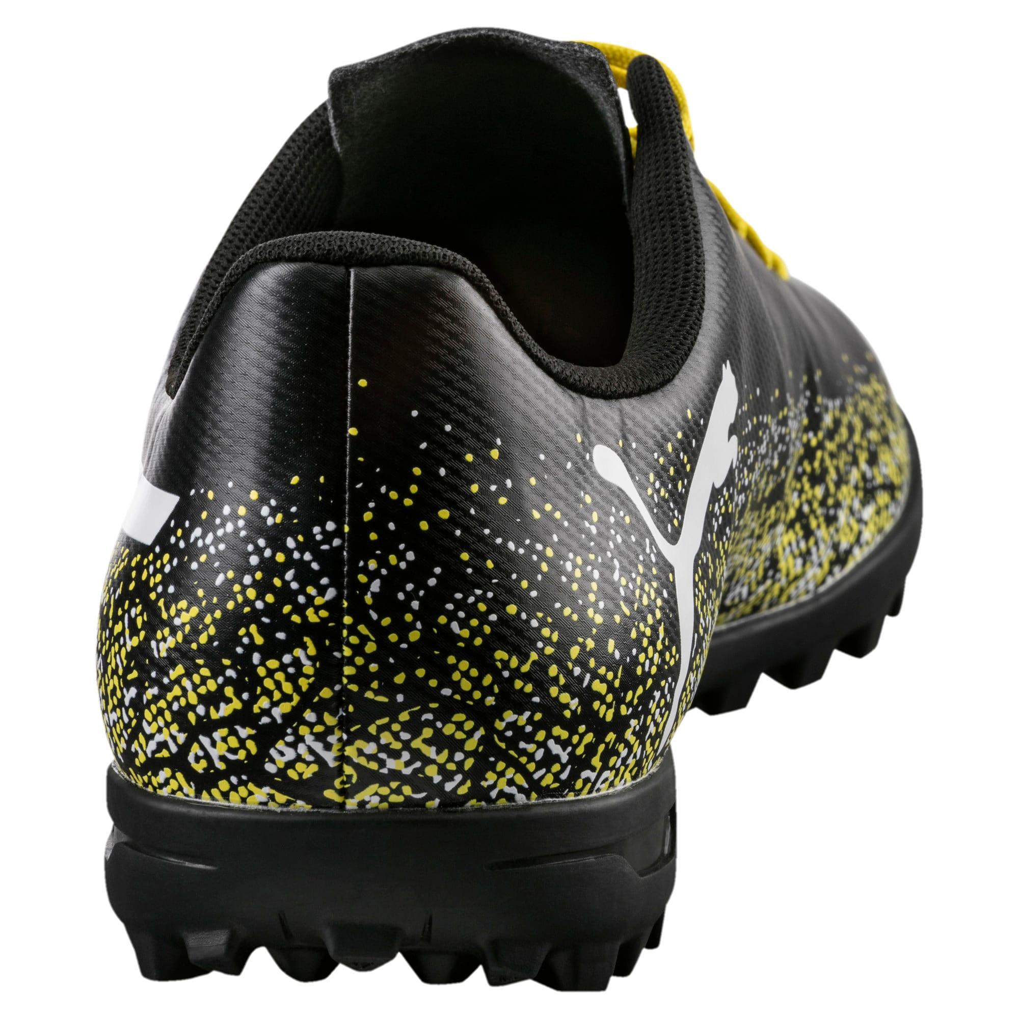 Thumbnail 4 of Truora TT Men's Football Boots, Black-White-Blazing Yellow, medium-IND