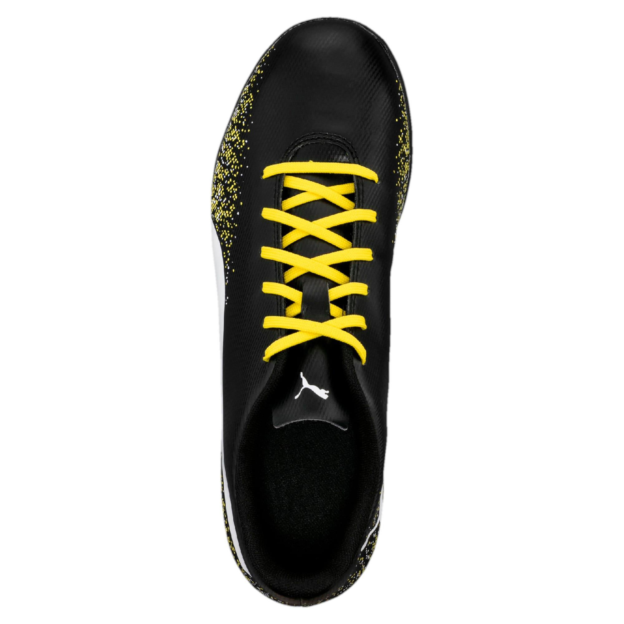 Thumbnail 3 of Truora TT Men's Football Boots, Black-White-Blazing Yellow, medium-IND