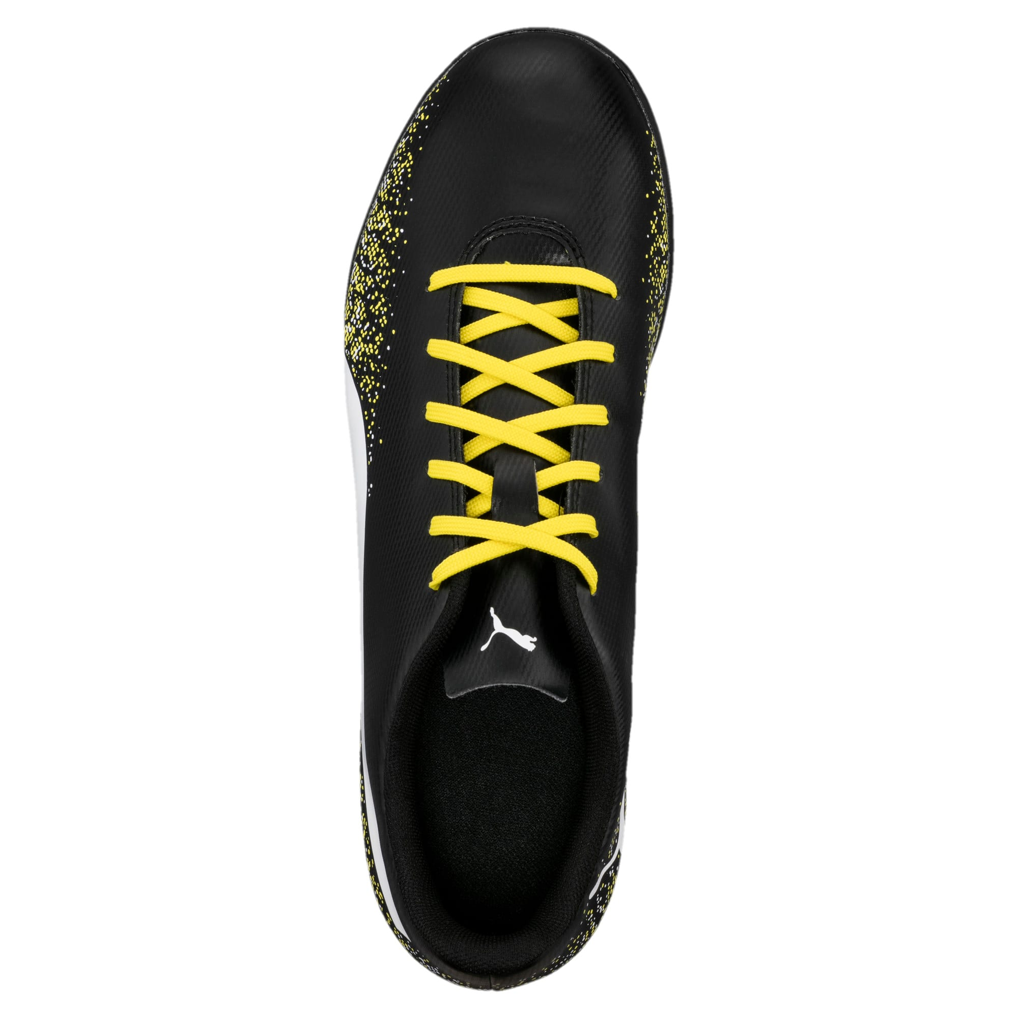 Thumbnail 5 of Truora TT Men's Football Boots, Black-White-Blazing Yellow, medium-IND