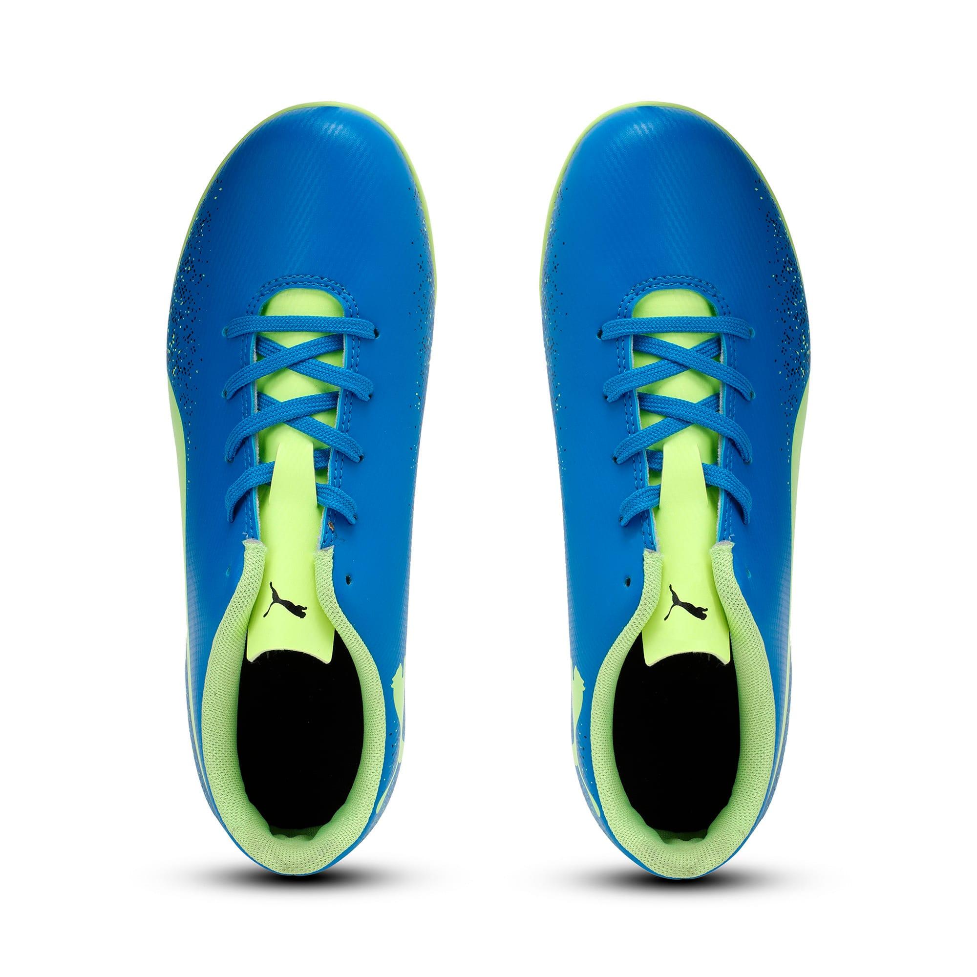 Thumbnail 6 of Truora TT Kids' Football Boots, Blue-Yellow-Black, medium-IND