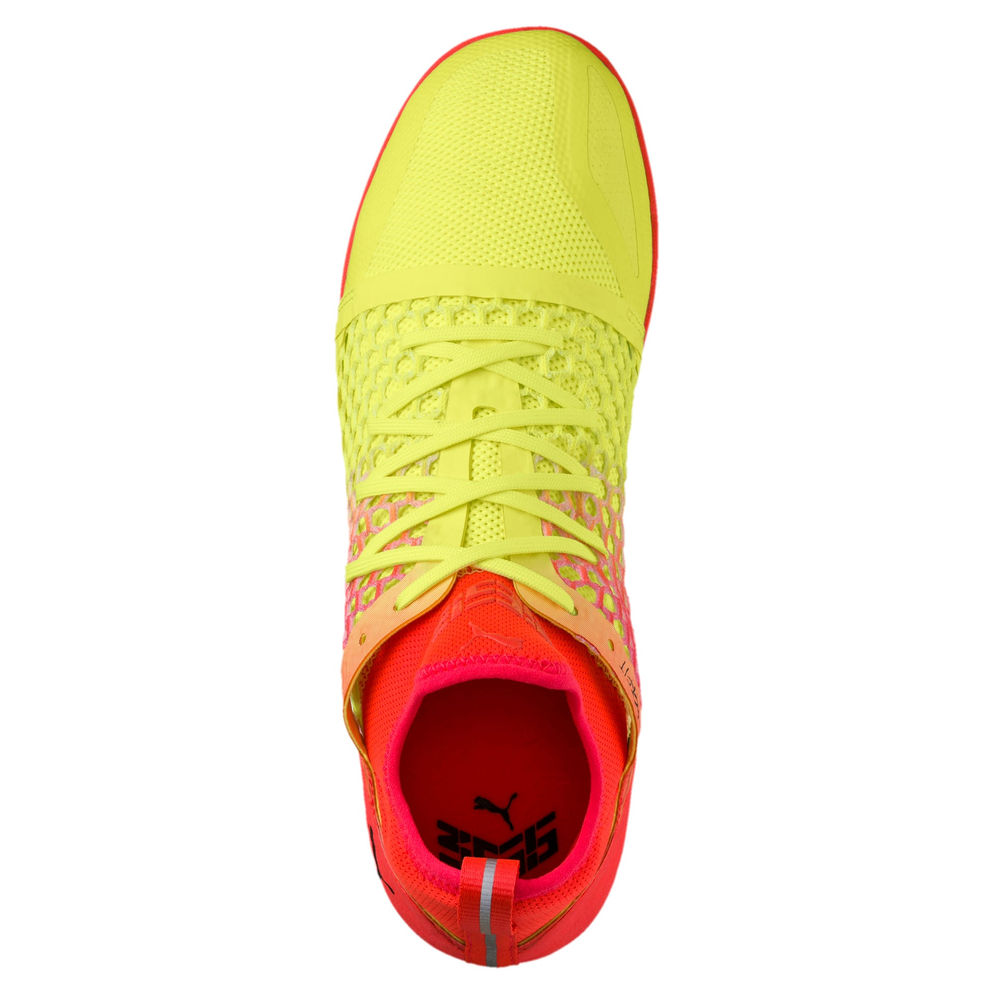 Thumbnail 5 of 365 IGNITE NETFIT CT Men's Court Football Boots, Yellow-Red-Black, medium-IND