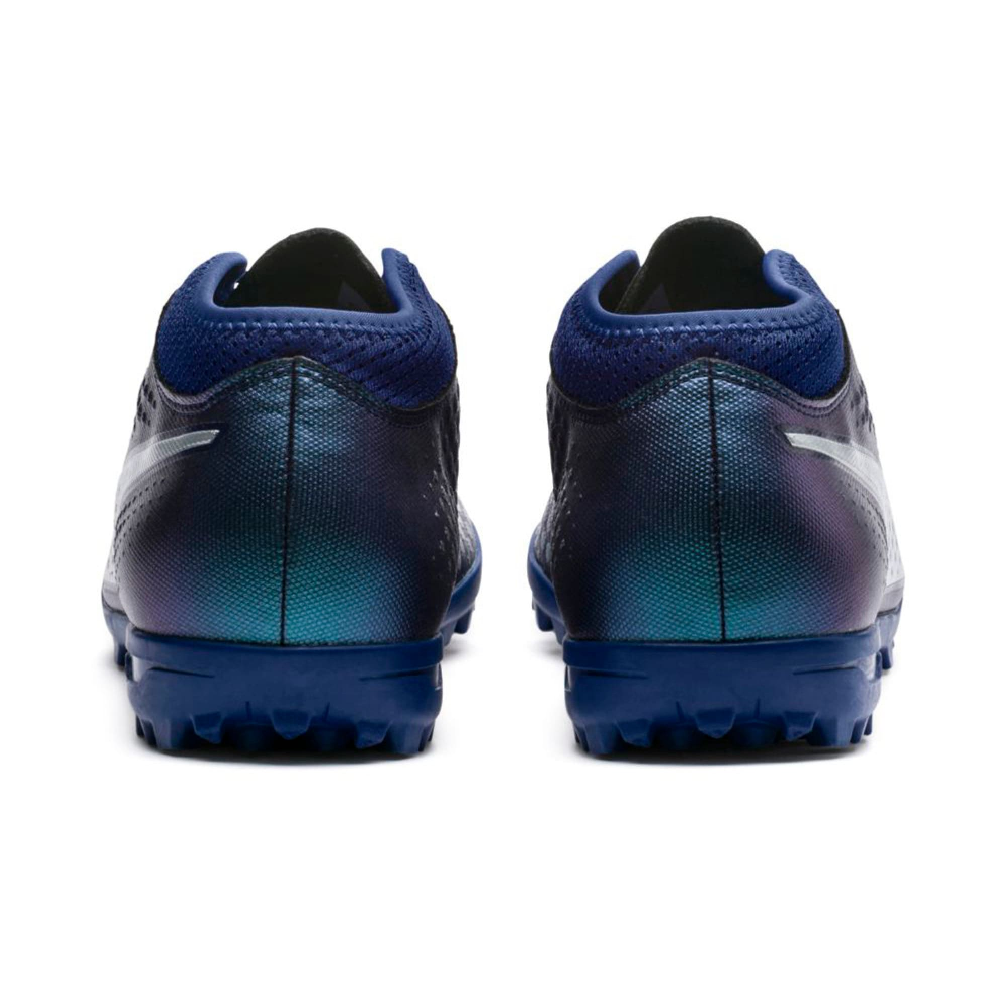 Thumbnail 3 of PUMA ONE 4 Synthetic TT Men's Football Boots, Sodalite Blue-Silver-Peacoat, medium-IND