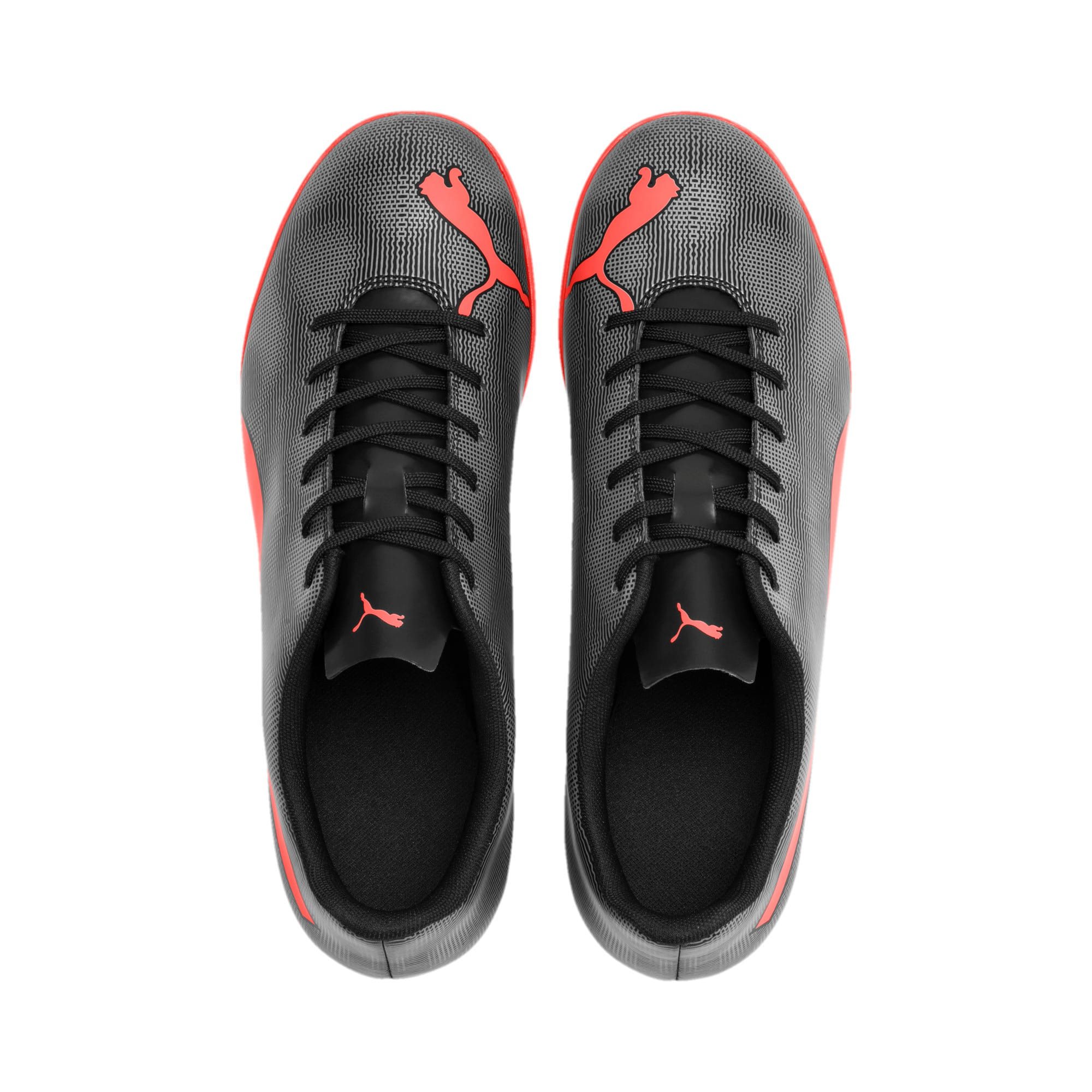 Thumbnail 4 of Rapido TT Men's Football Boots, Black-Nrgy Red-Aged Silver, medium-IND