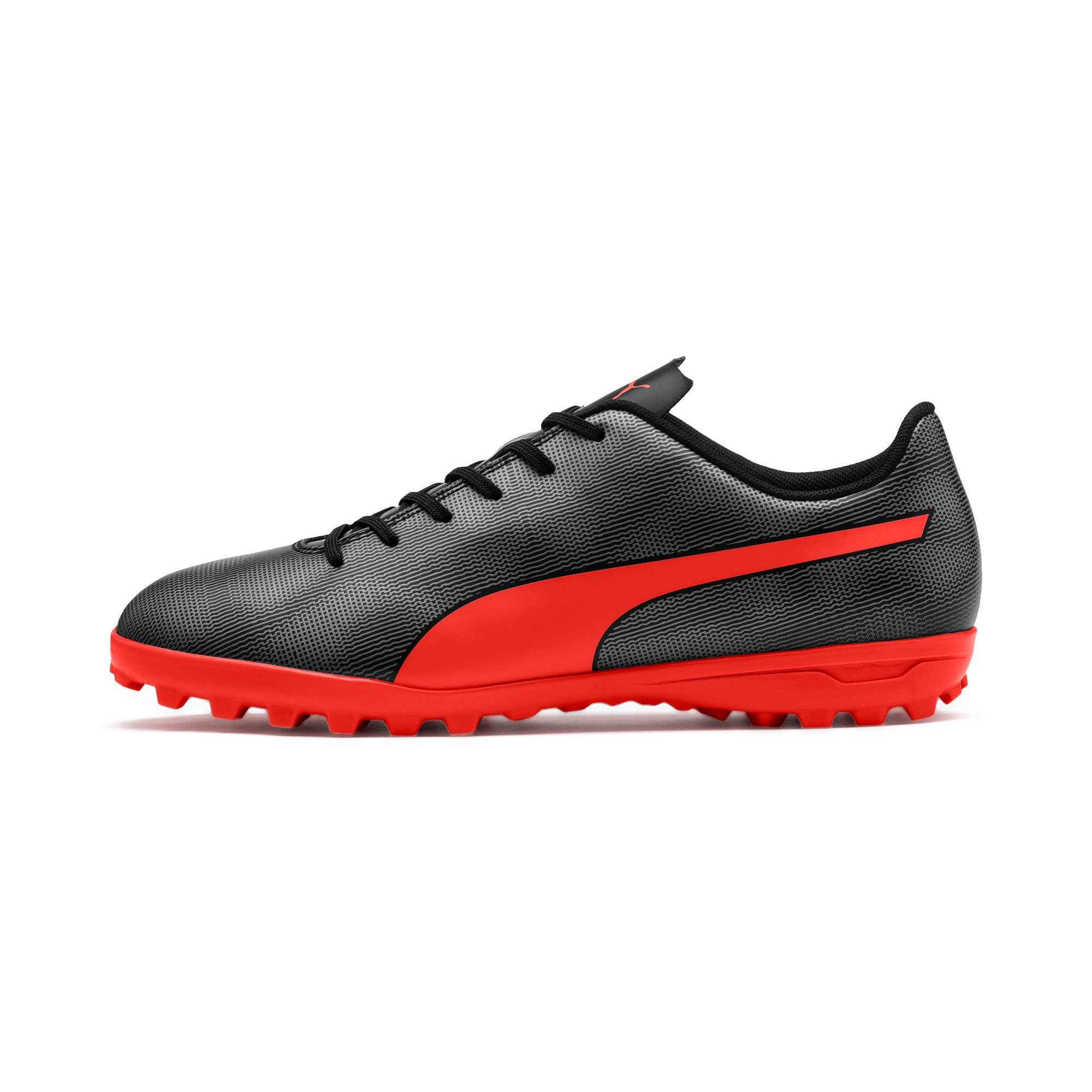 Thumbnail 1 of Rapido TT Men's Football Boots, Black-Nrgy Red-Aged Silver, medium-IND