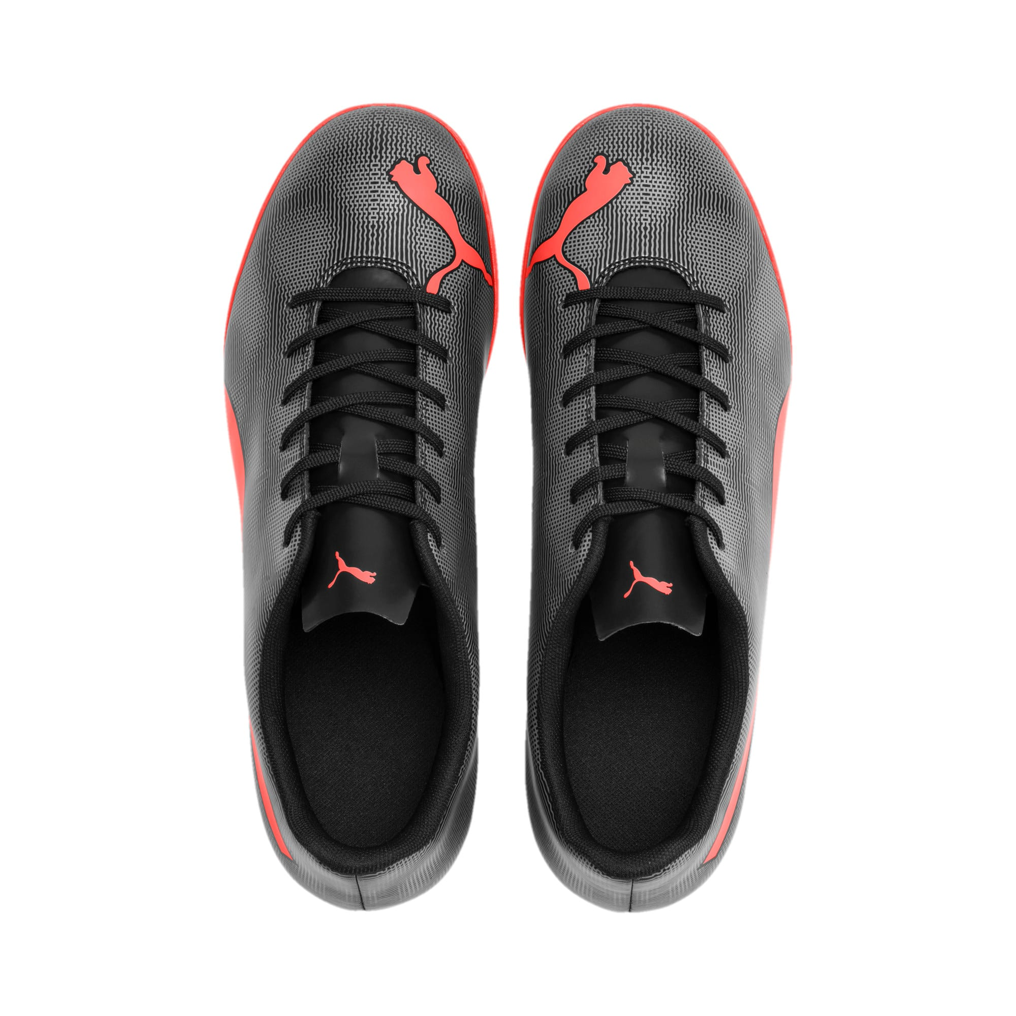 Thumbnail 8 of Rapido TT Men's Football Boots, Black-Nrgy Red-Aged Silver, medium-IND