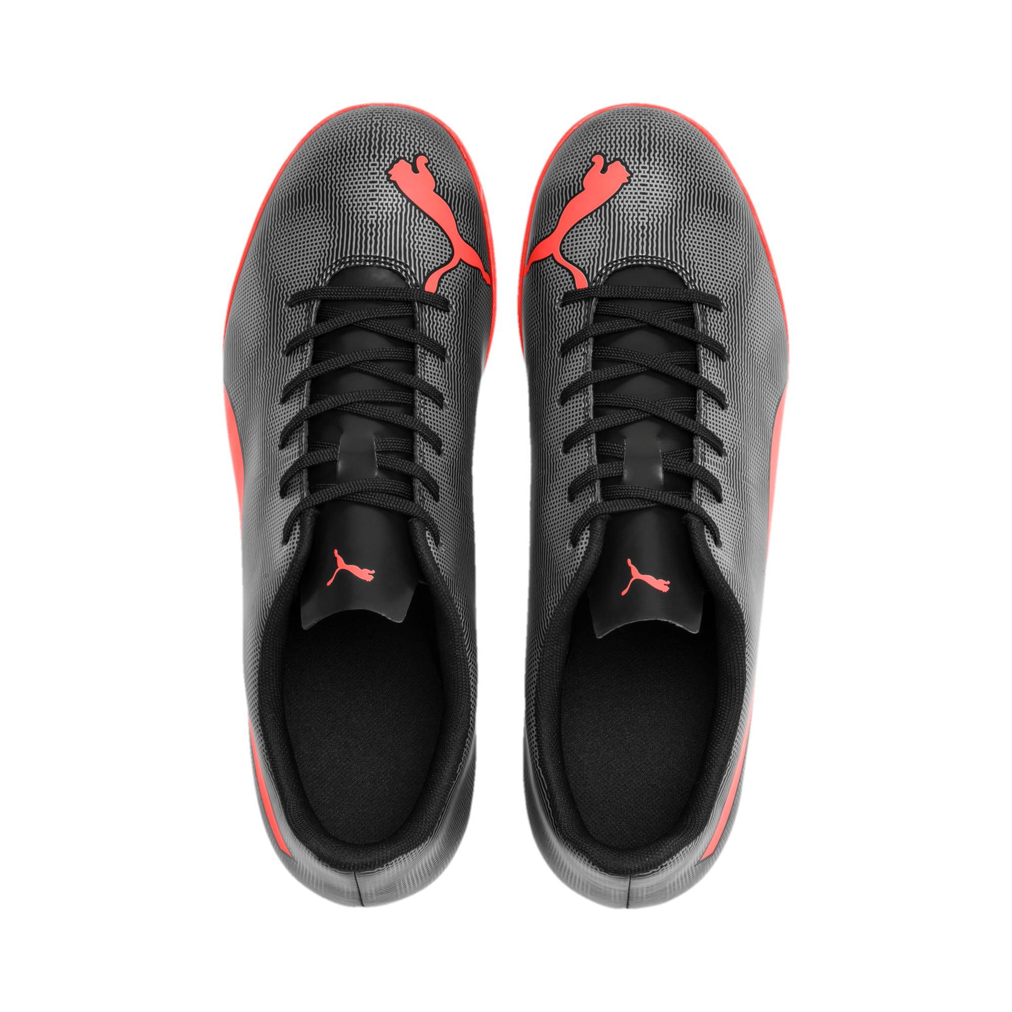 Thumbnail 7 of Rapido TT Men's Soccer Cleats, Black-Nrgy Red-Aged Silver, medium