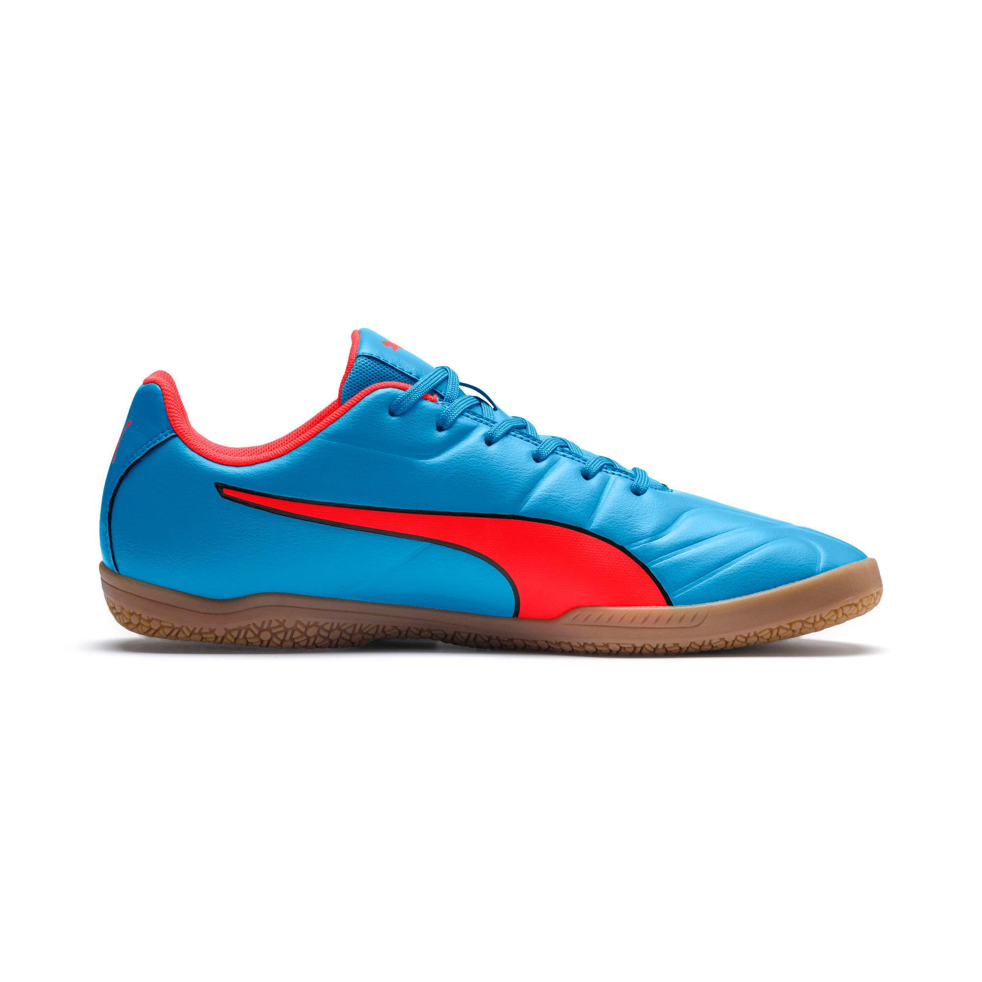 Thumbnail 5 of Classico C II Sala Men's Football Boots, Bleu Azur-Red Blast-Black, medium-IND
