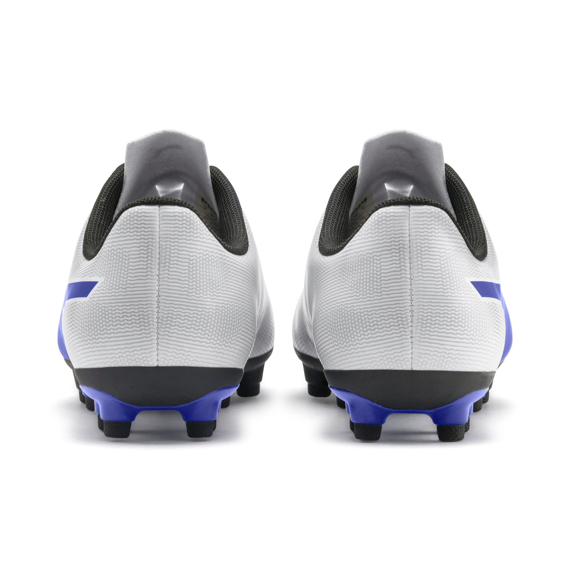 Thumbnail 3 of Rapido FG Boy's Soccer Cleats JR, White-Royal Blue-Light Gray, medium