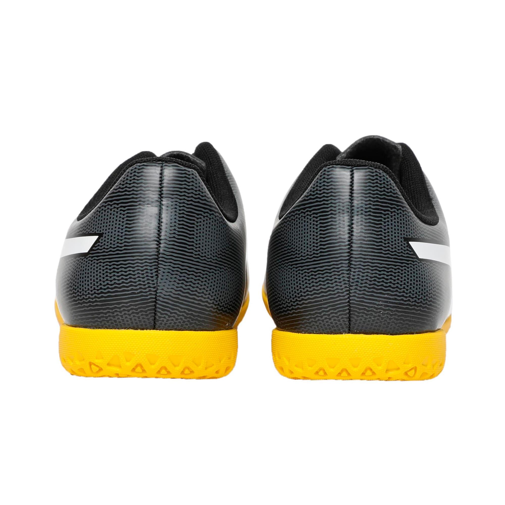 Thumbnail 3 of Rapido IT Youth Football Boots, Black-White-Iron-Yellow, medium-IND