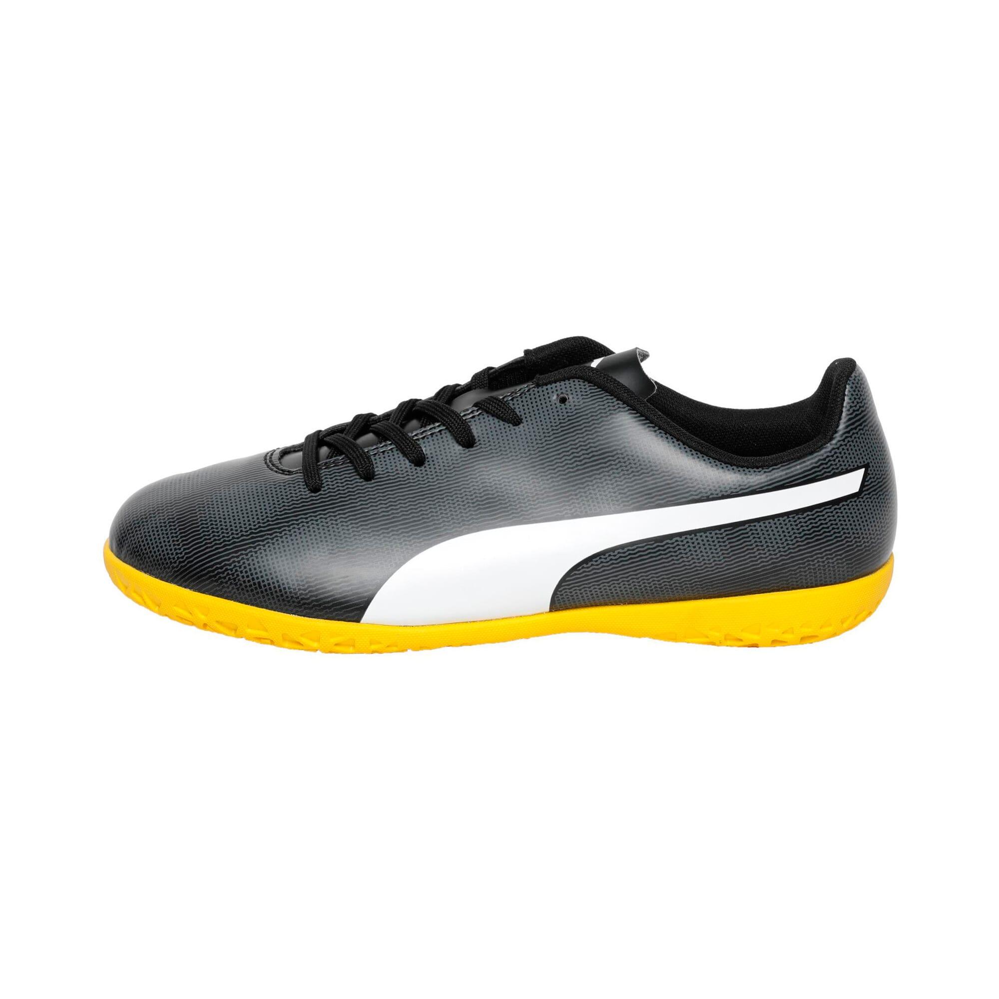 Thumbnail 1 of Rapido IT Youth Football Boots, Black-White-Iron-Yellow, medium-IND