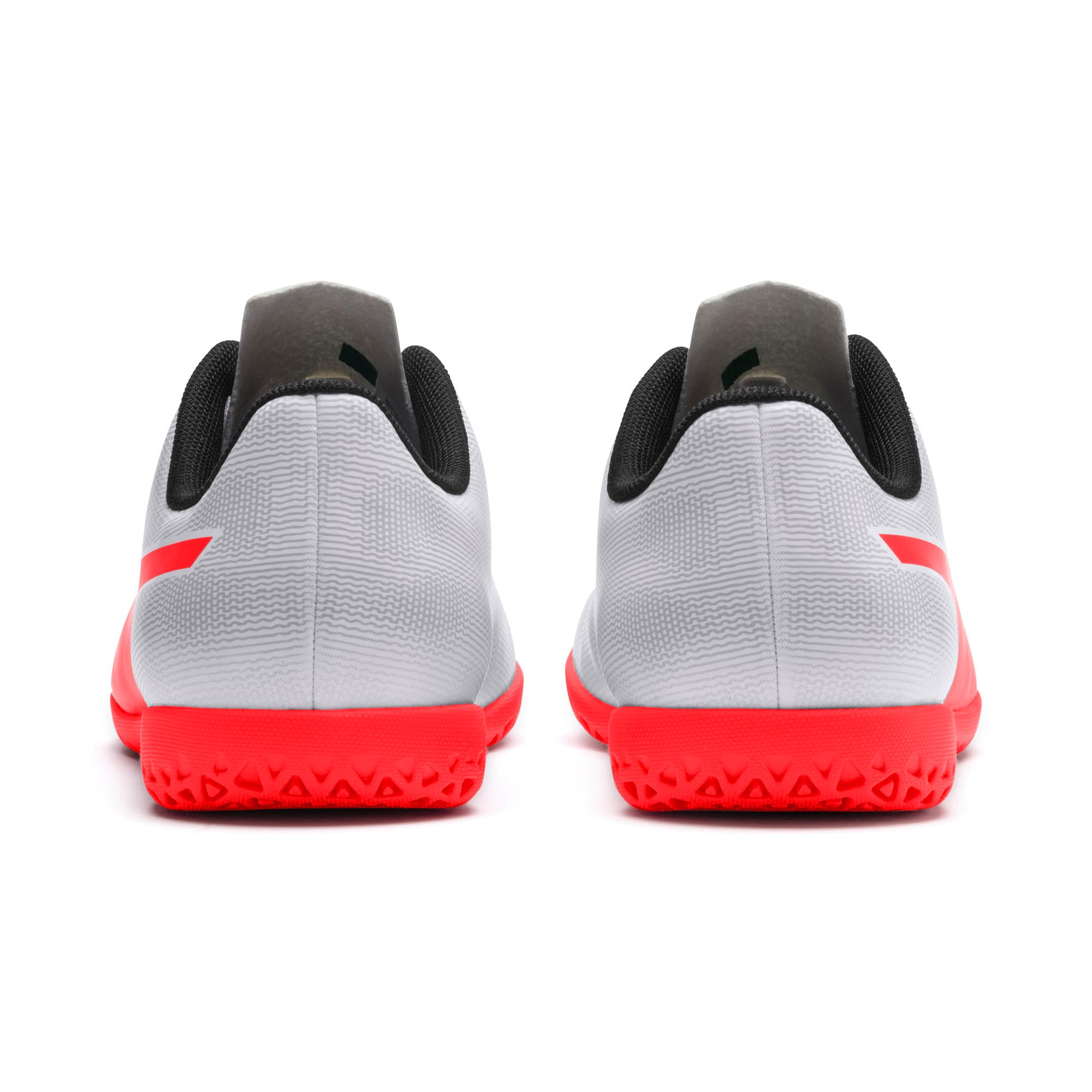 Thumbnail 3 of Rapido IT Youth Football Boots, White-Gray-Black-Red Blast, medium-IND