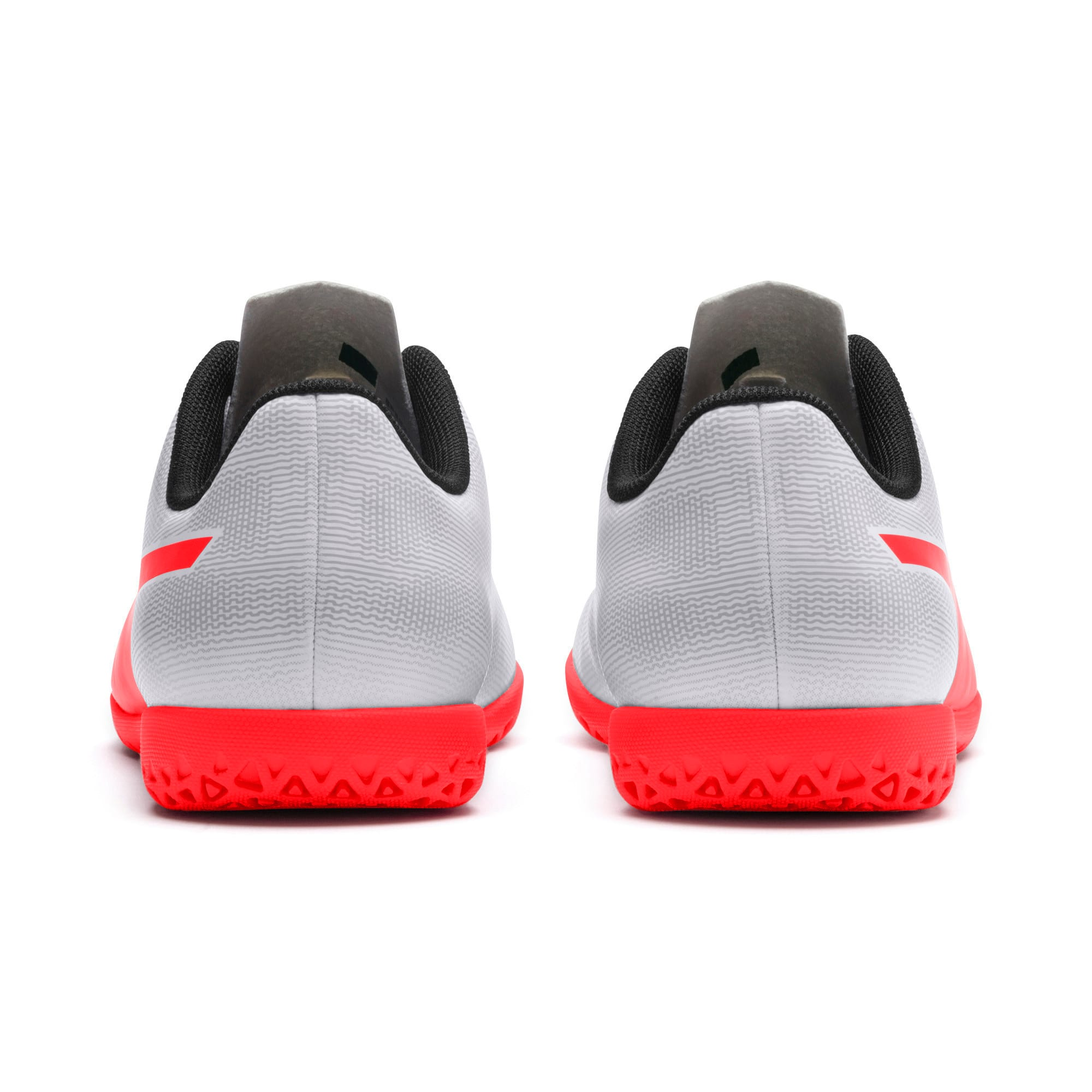 Thumbnail 2 of Rapido IT Youth Football Boots, White-Gray-Black-Red Blast, medium-IND