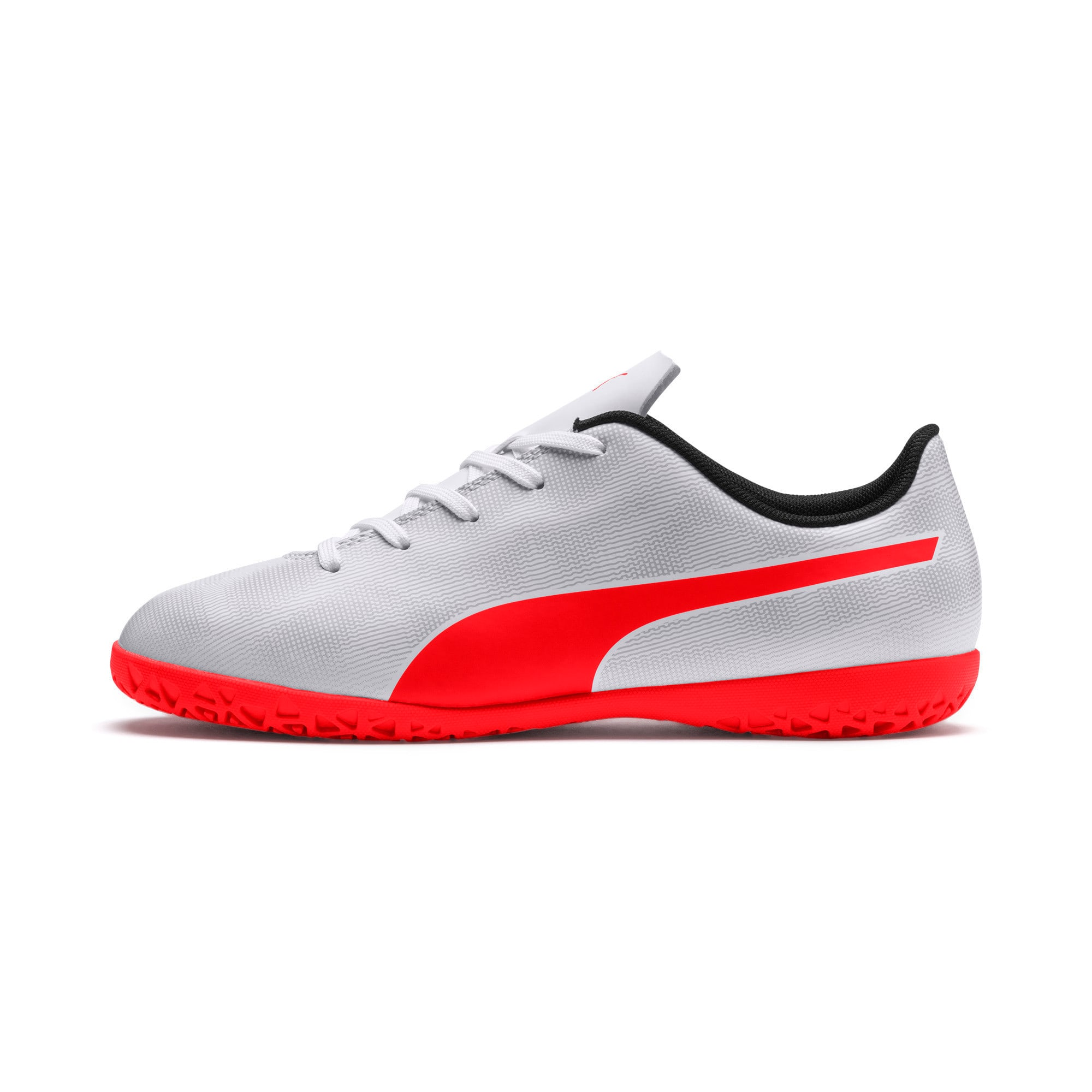 Thumbnail 1 of Rapido IT Youth Football Boots, White-Gray-Black-Red Blast, medium-IND