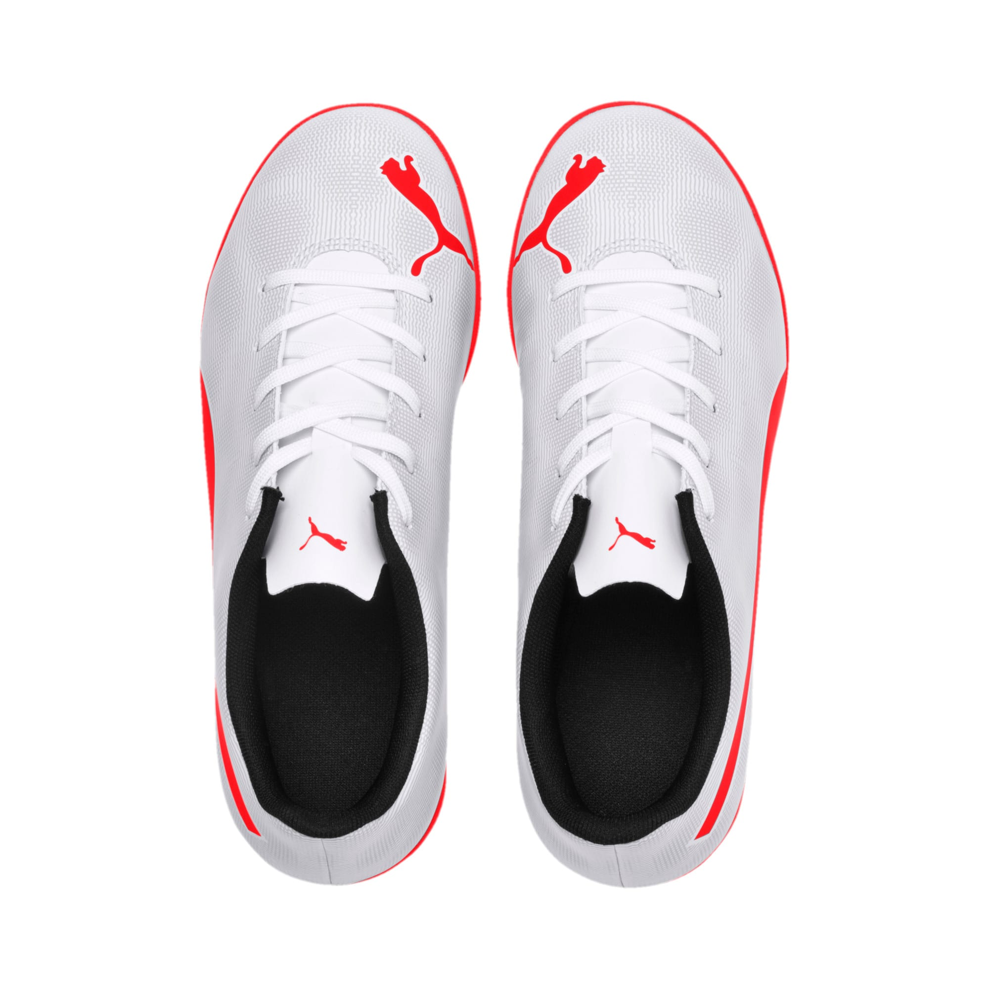 Thumbnail 6 of Rapido IT Youth Football Boots, White-Gray-Black-Red Blast, medium-IND