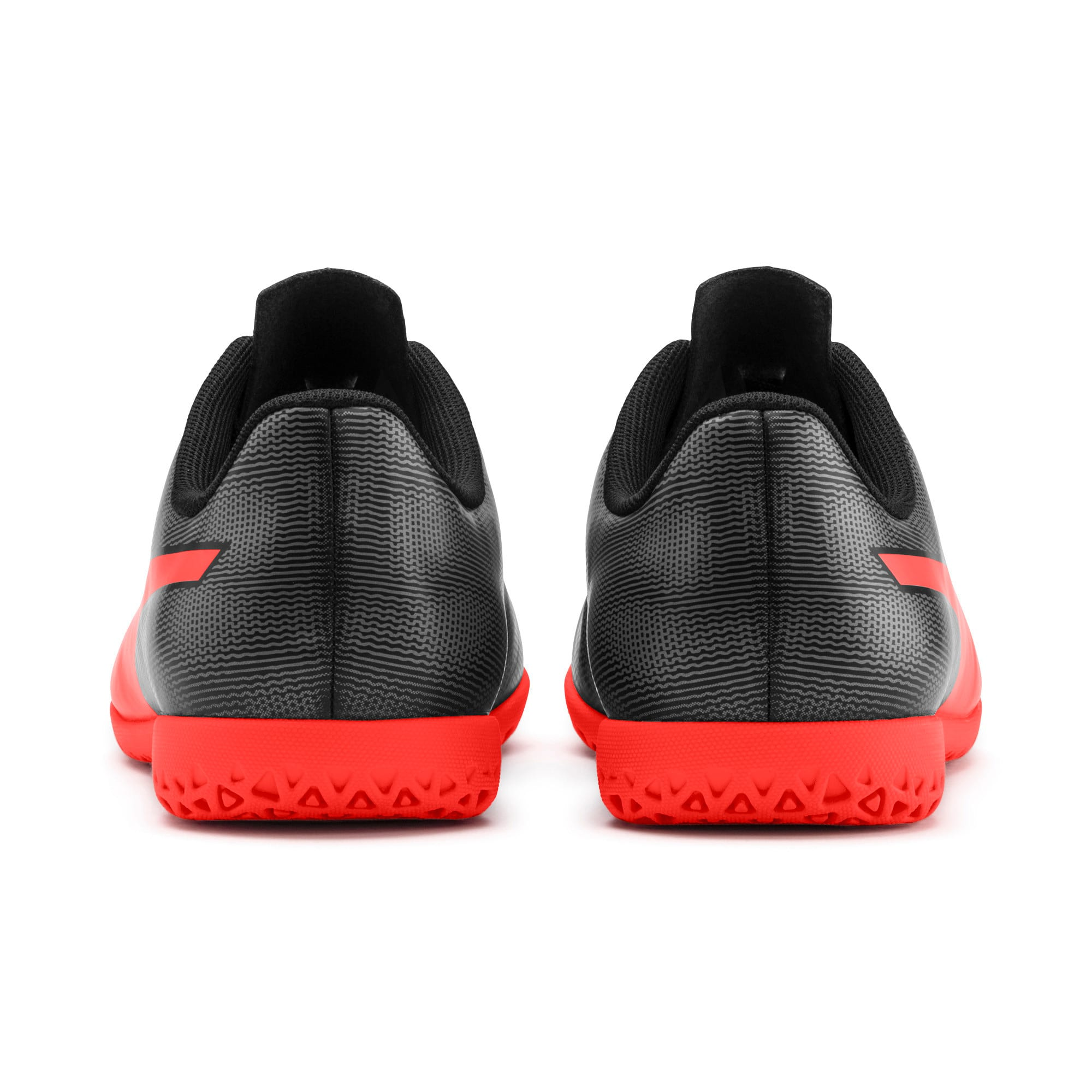 Thumbnail 3 of Rapido IT Youth Football Boots, Black-Nrgy Red-Aged Silver, medium-IND