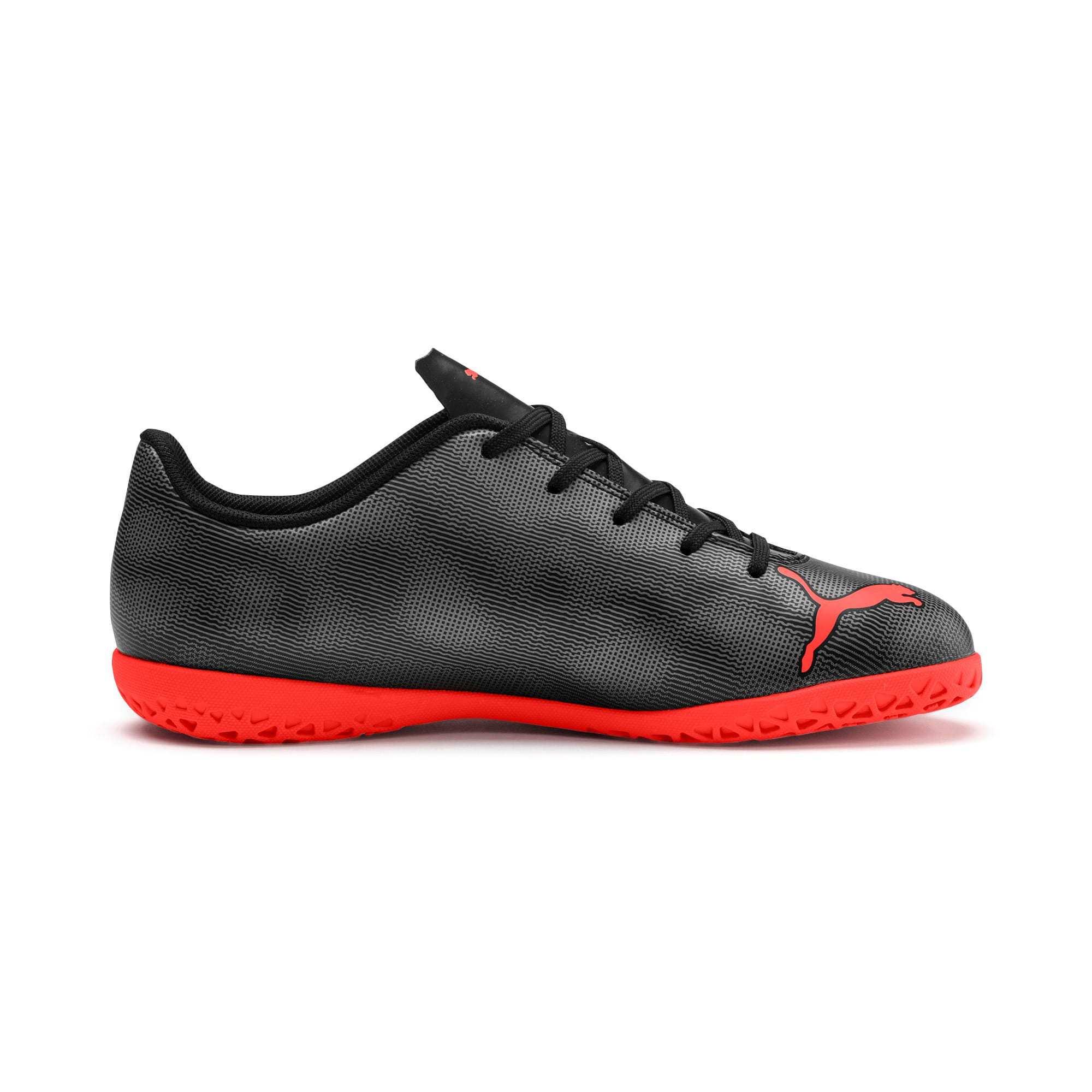 Thumbnail 5 of Rapido IT Youth Football Boots, Black-Nrgy Red-Aged Silver, medium-IND