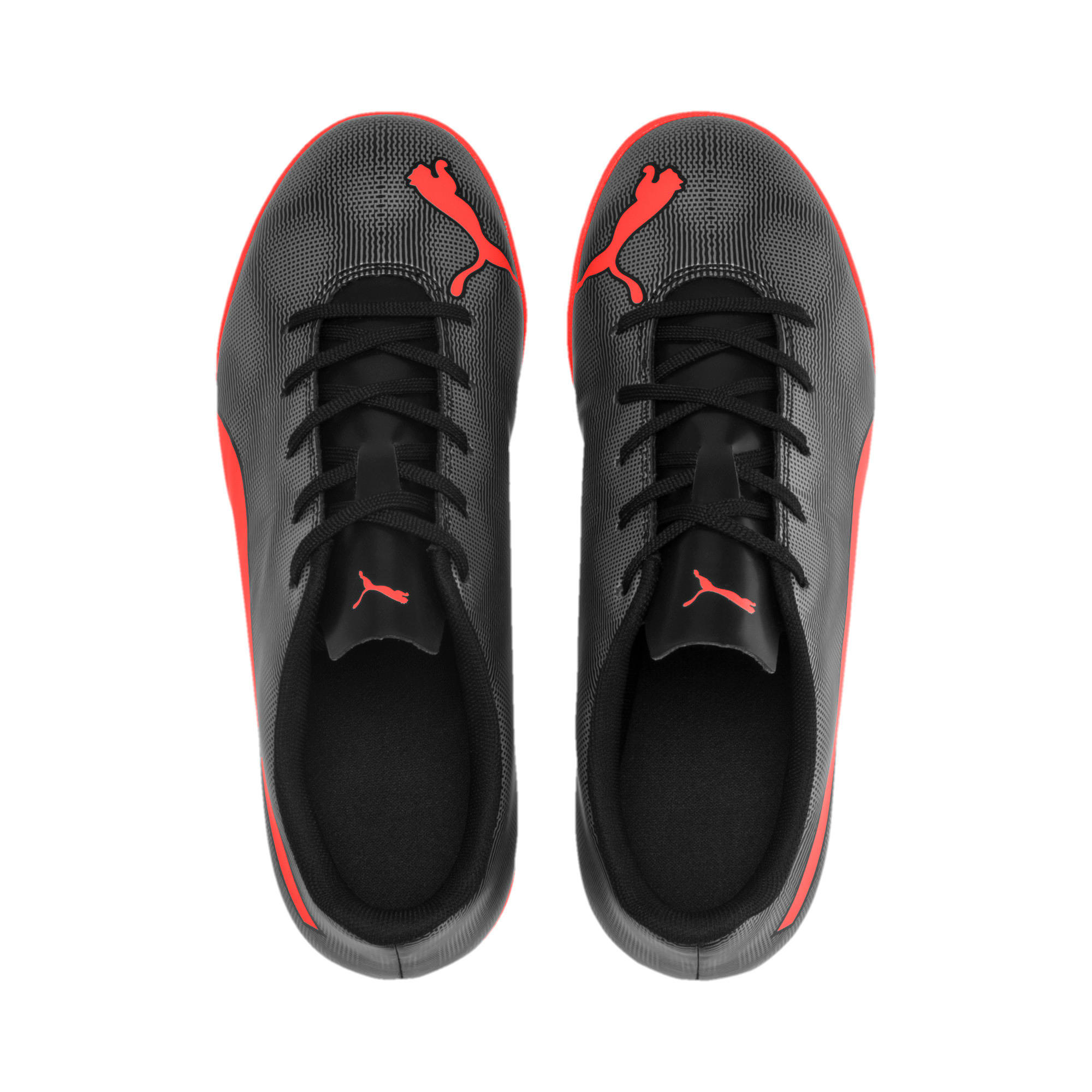 Thumbnail 6 of Rapido IT Youth Football Boots, Black-Nrgy Red-Aged Silver, medium-IND