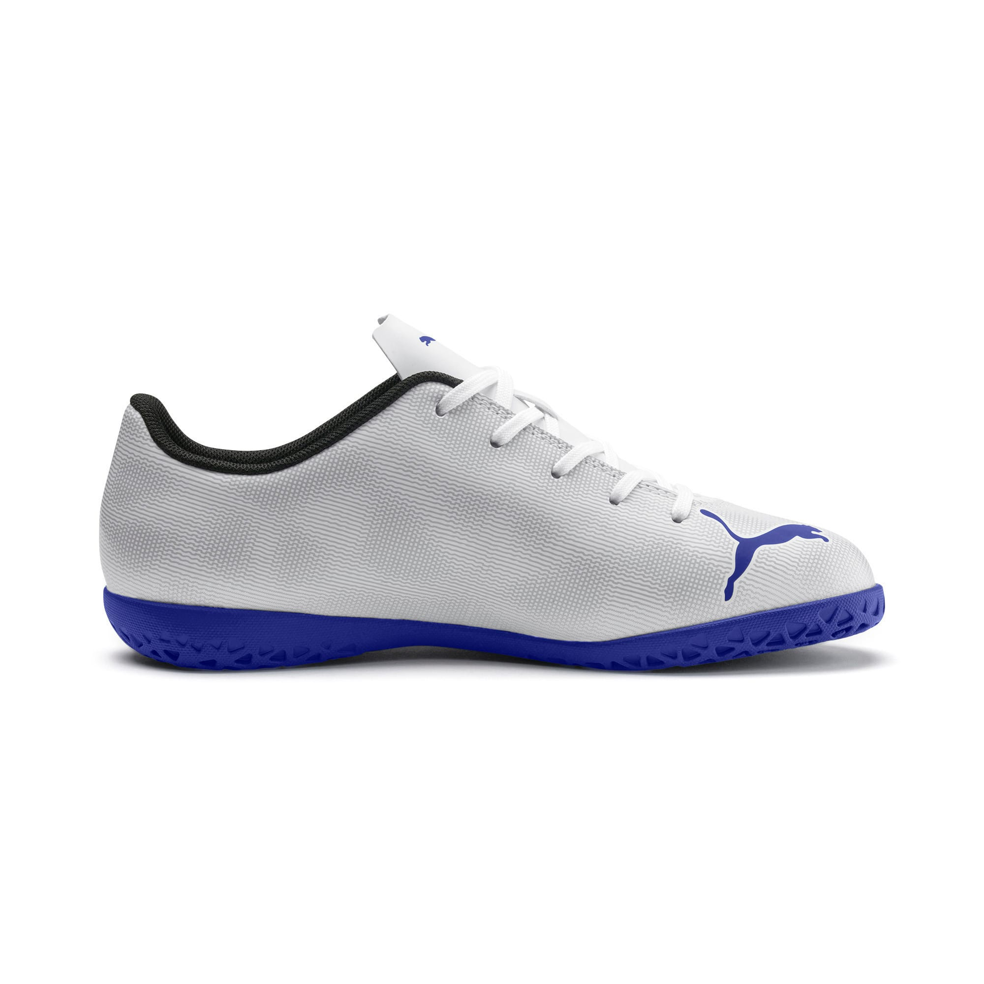 Thumbnail 3 of Rapido IT Youth Football Boots, White-Royal Blue-Light Gray, medium-IND