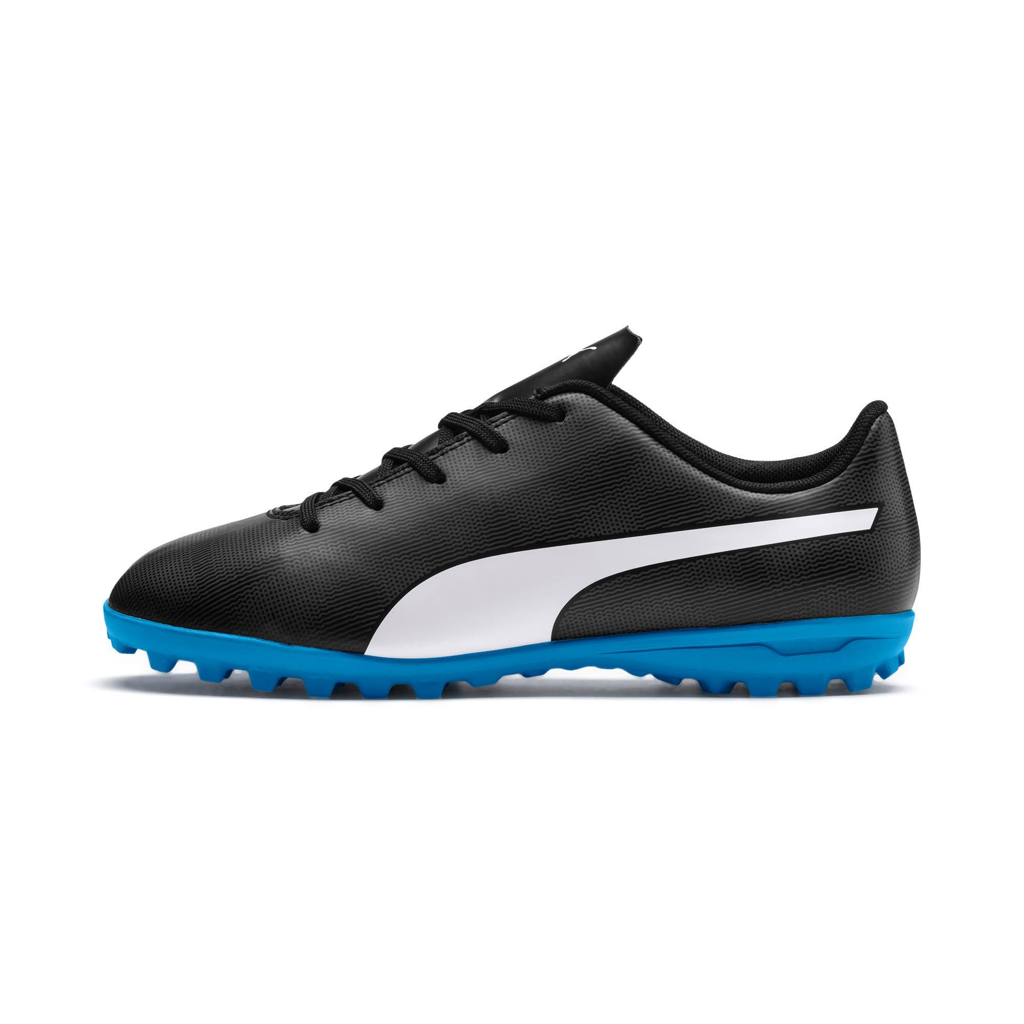 Thumbnail 1 of Rapido TT Youth Football Boots, Black-White-Iron Gate-Bleu, medium-IND