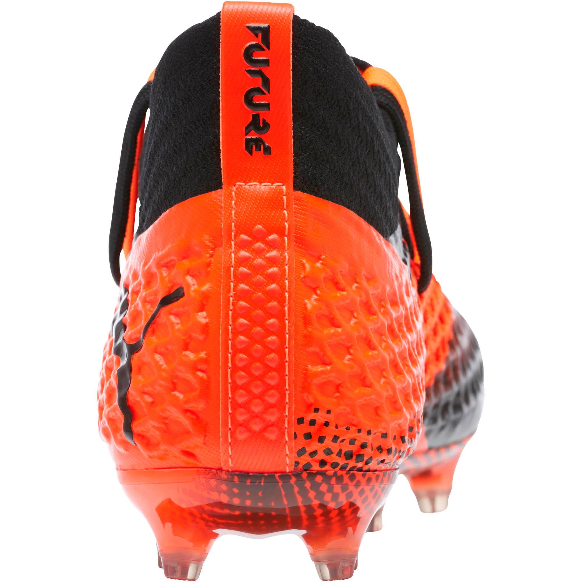 Thumbnail 4 of FUTURE 2.1 NETFIT FG/AG Soccer Cleats JR, Black-Orange, medium