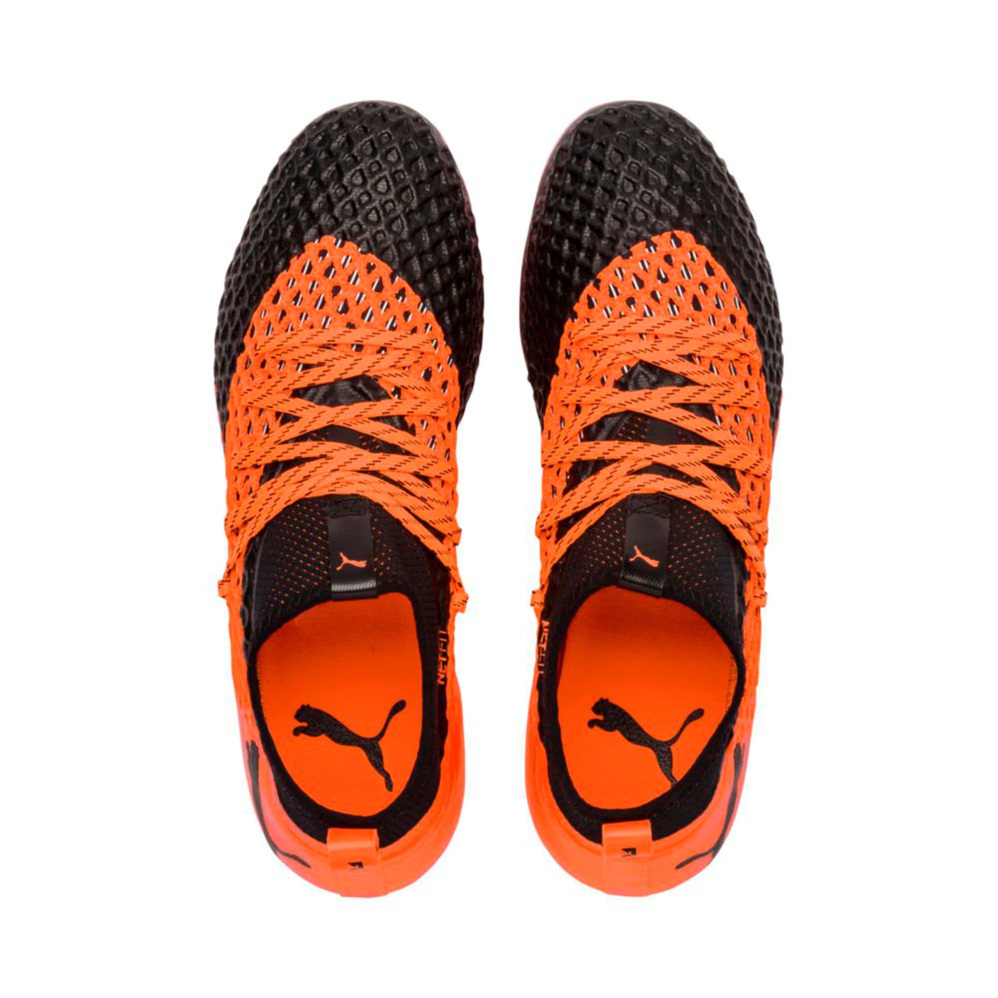 Thumbnail 3 of FUTURE 2.2 NETFIT FG/AG  Football Boots, Black-Orange, medium-IND