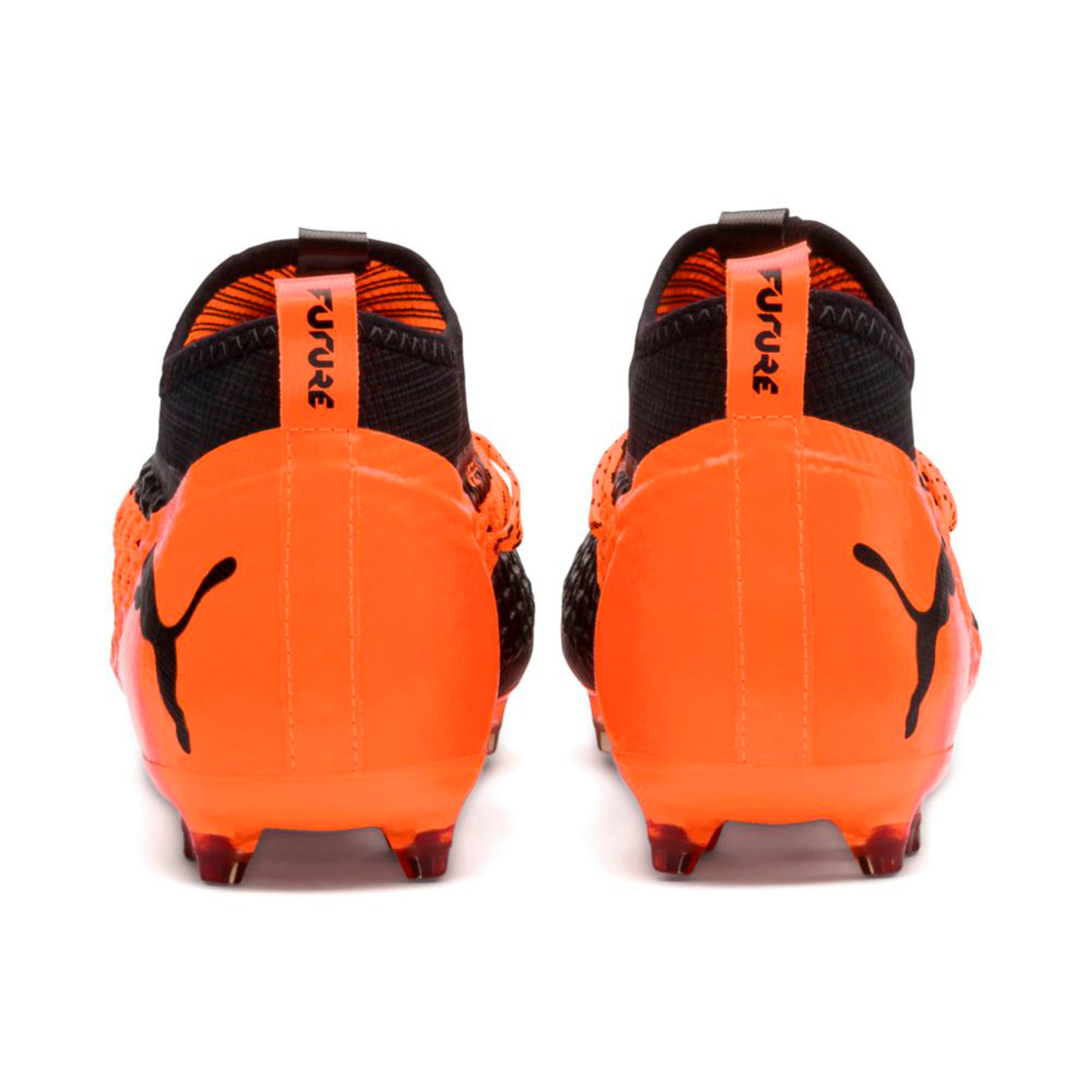 Thumbnail 4 of FUTURE 2.2 NETFIT FG/AG  Football Boots, Black-Orange, medium-IND
