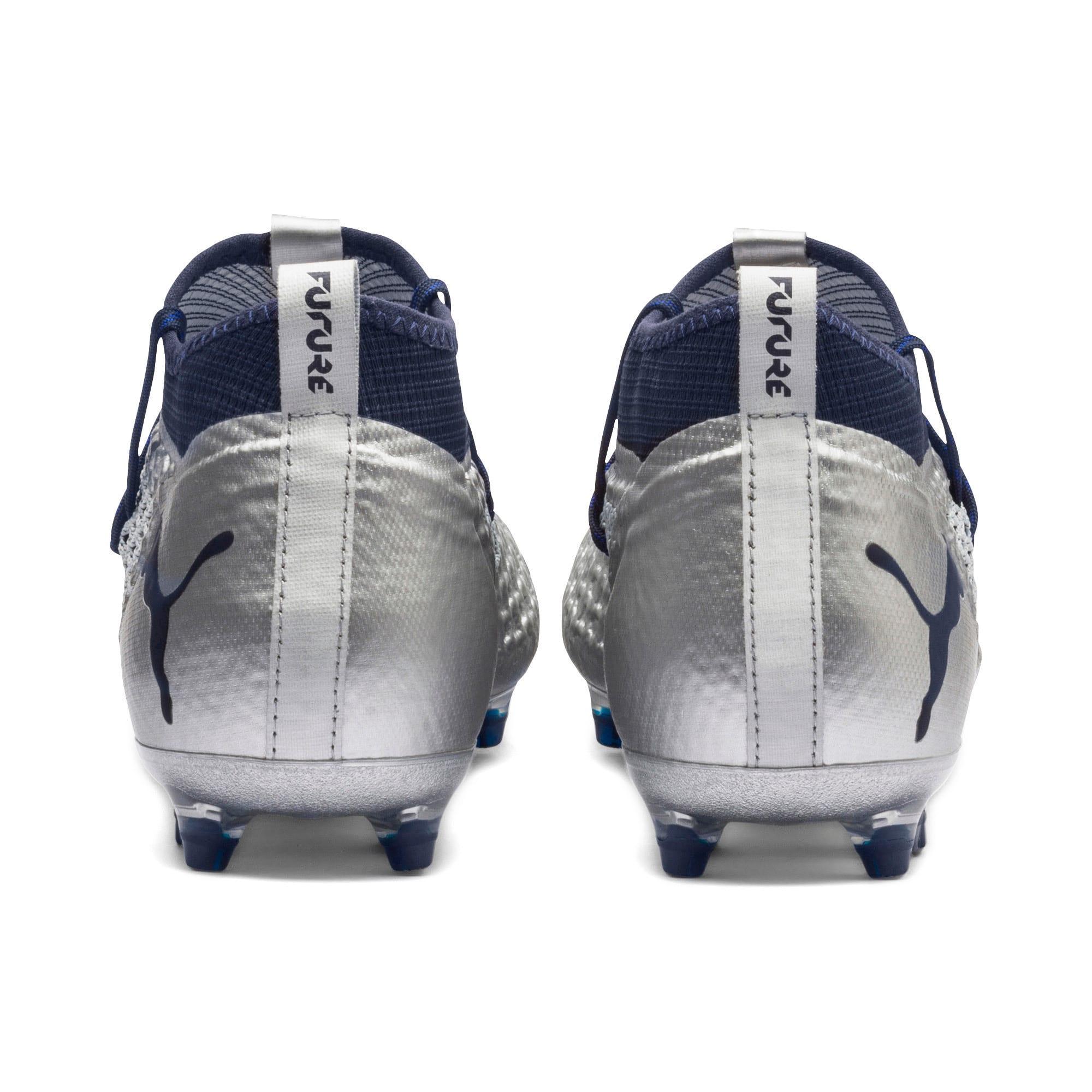 Thumbnail 5 of FUTURE 2.2 NETFIT FG/AG  Football Boots, Puma Silver-Peacoat, medium-IND