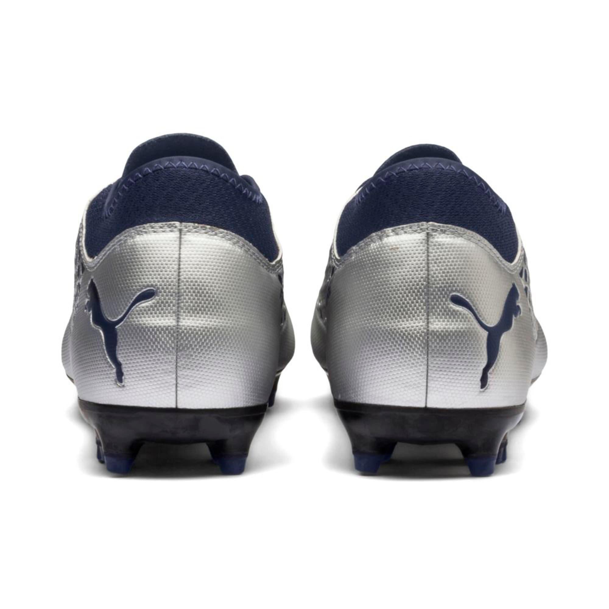 Thumbnail 4 of FUTURE 2.4 FG/AG Men's Football Boots, Puma Silver-Peacoat, medium-IND