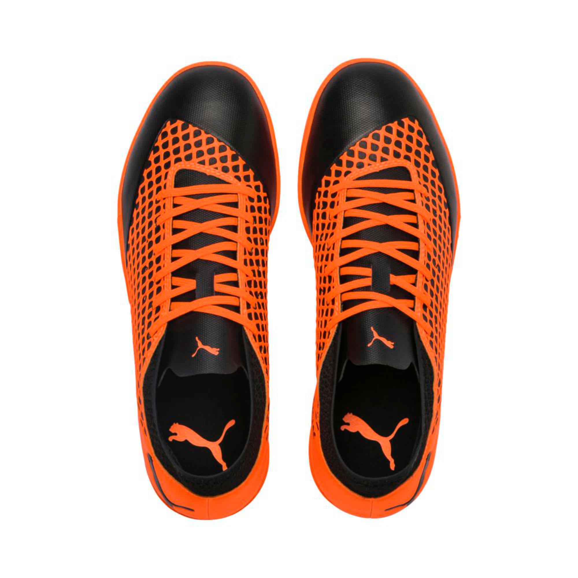 Thumbnail 3 of FUTURE 2.4 TT Men's Football Boots, Puma Black-Shocking Orange, medium-IND