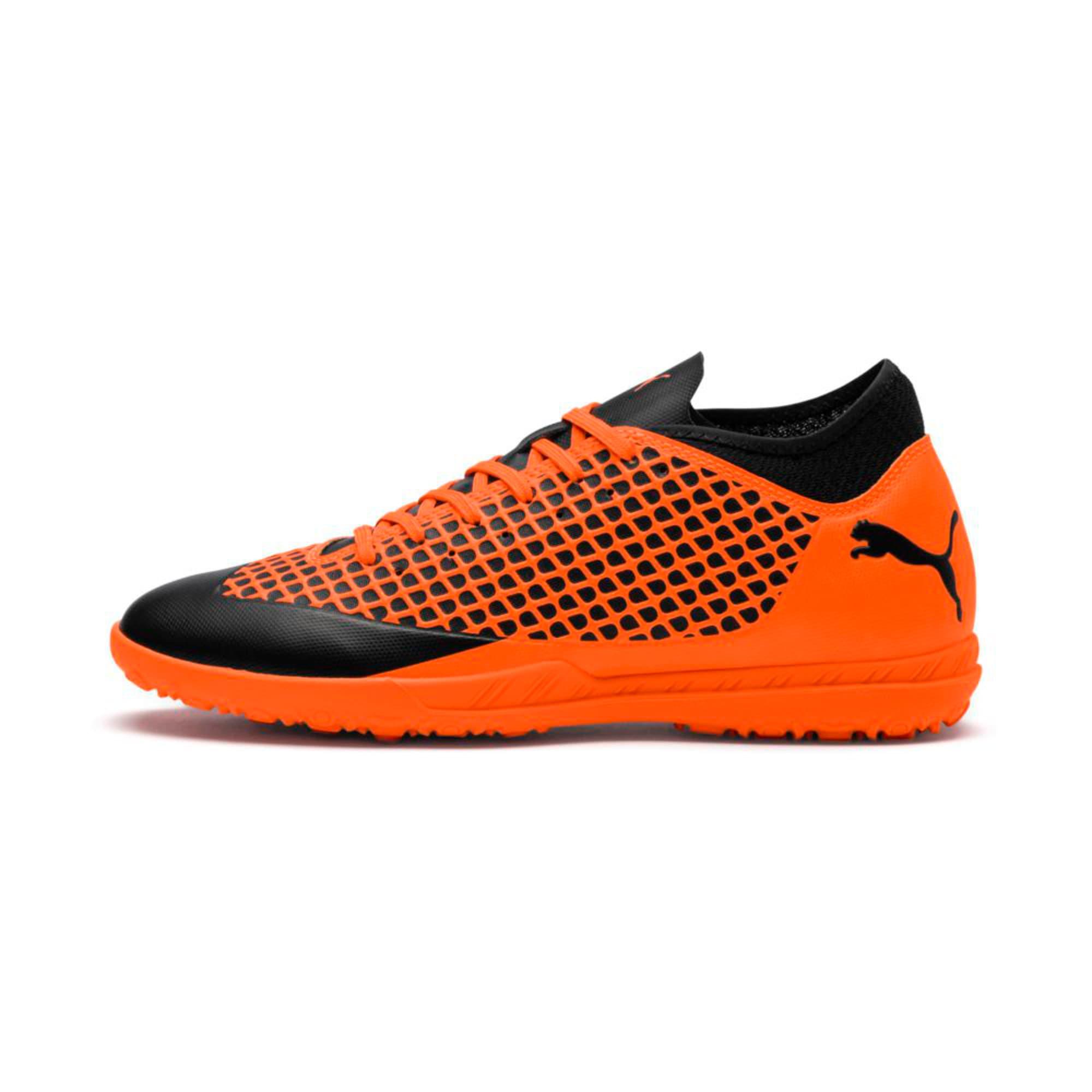 Thumbnail 1 of FUTURE 2.4 TT Men's Football Boots, Puma Black-Shocking Orange, medium-IND