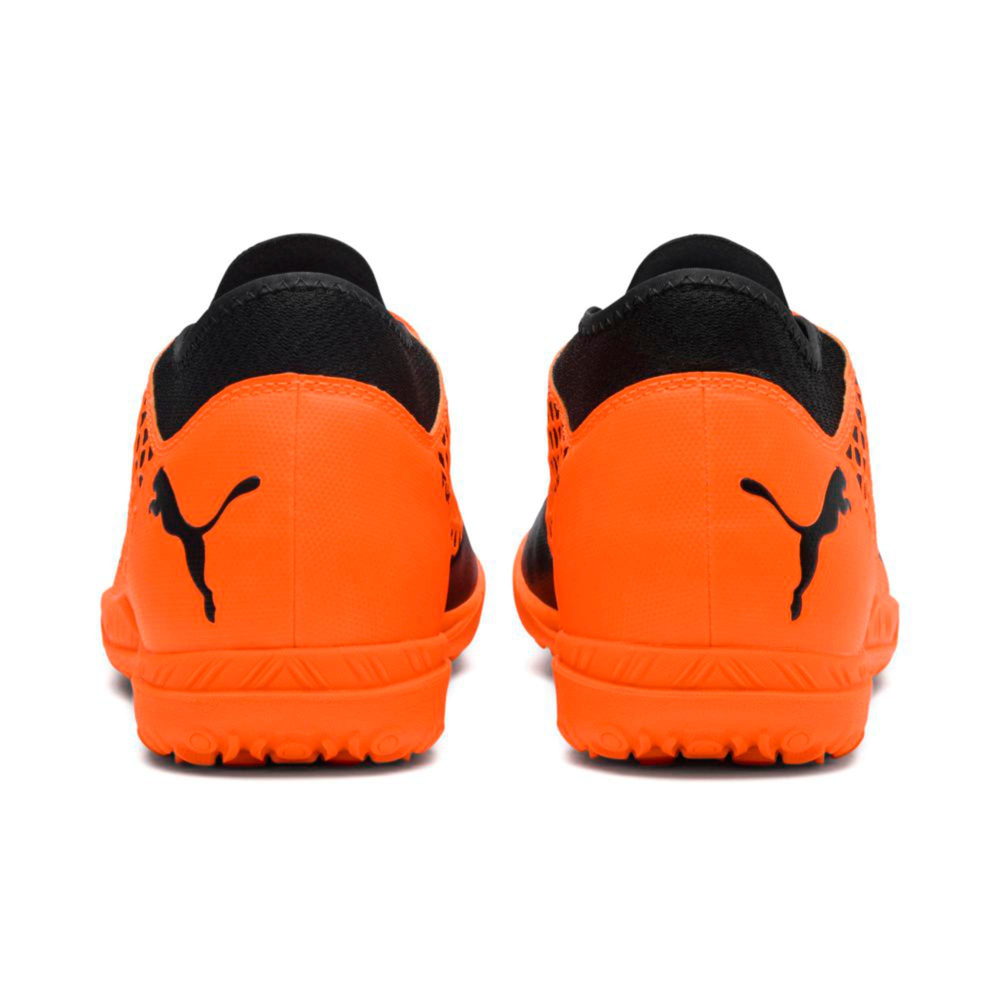 Thumbnail 4 of FUTURE 2.4 TT Men's Football Boots, Puma Black-Shocking Orange, medium-IND