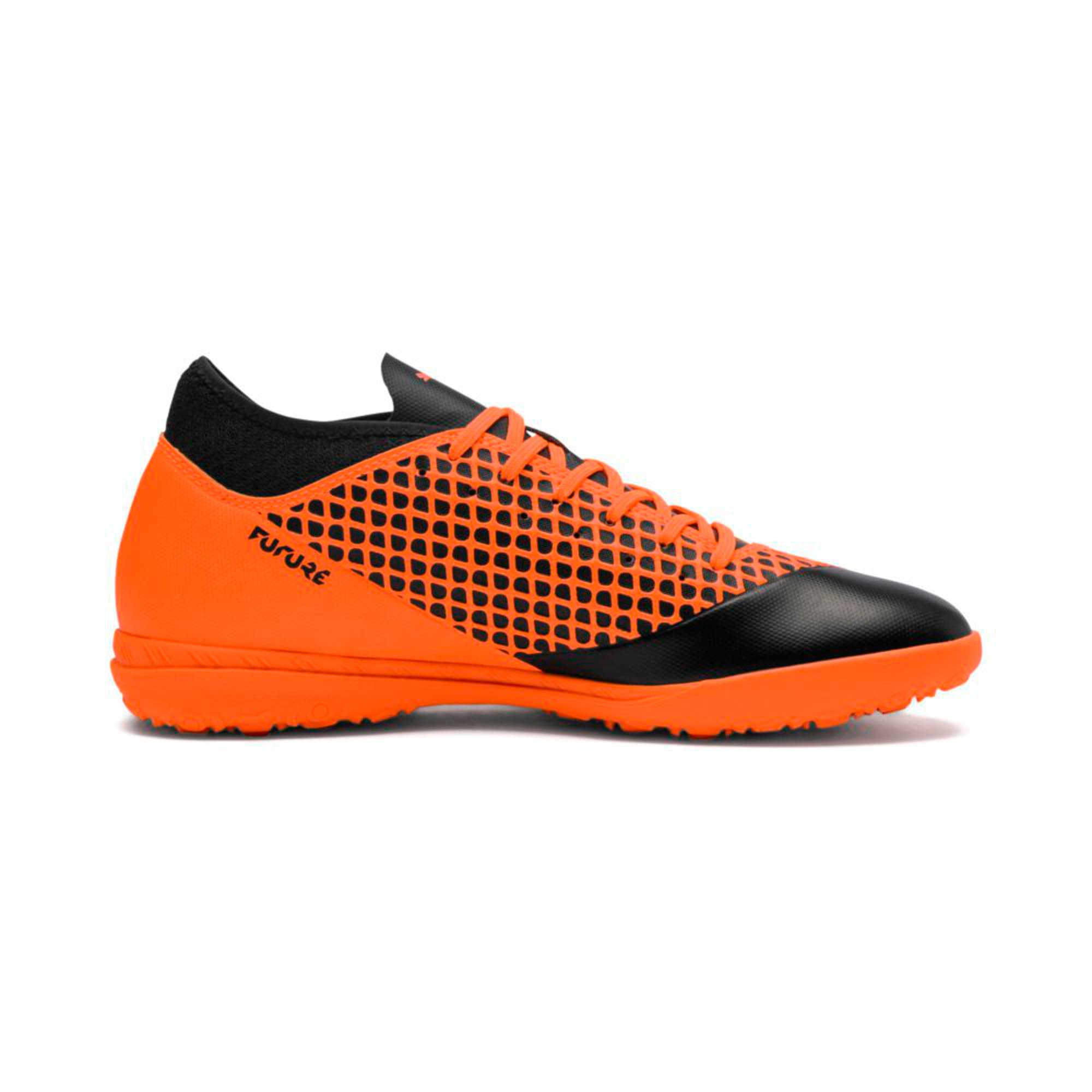 Thumbnail 5 of FUTURE 2.4 TT Men's Football Boots, Puma Black-Shocking Orange, medium-IND
