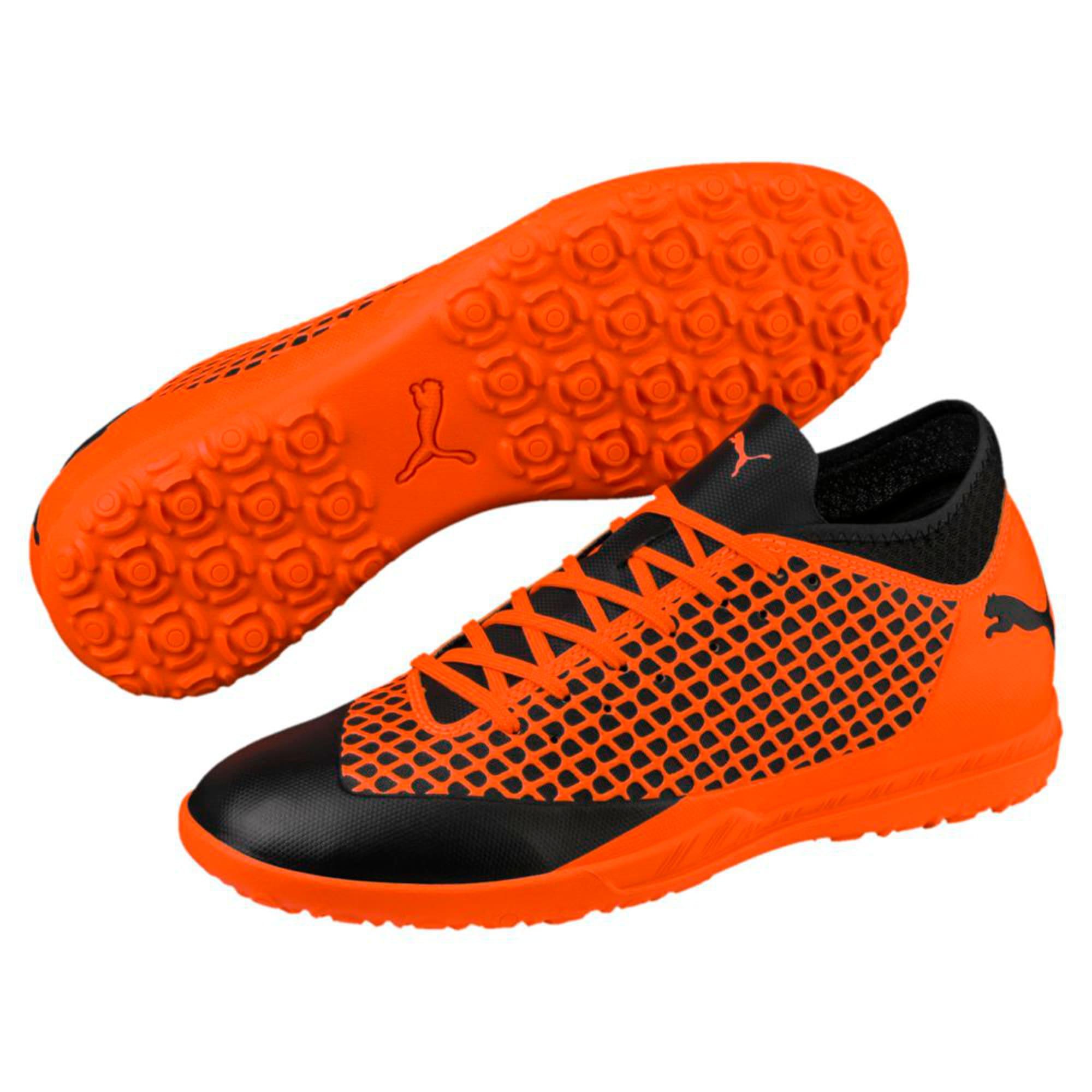 Thumbnail 6 of FUTURE 2.4 TT Men's Football Boots, Puma Black-Shocking Orange, medium-IND