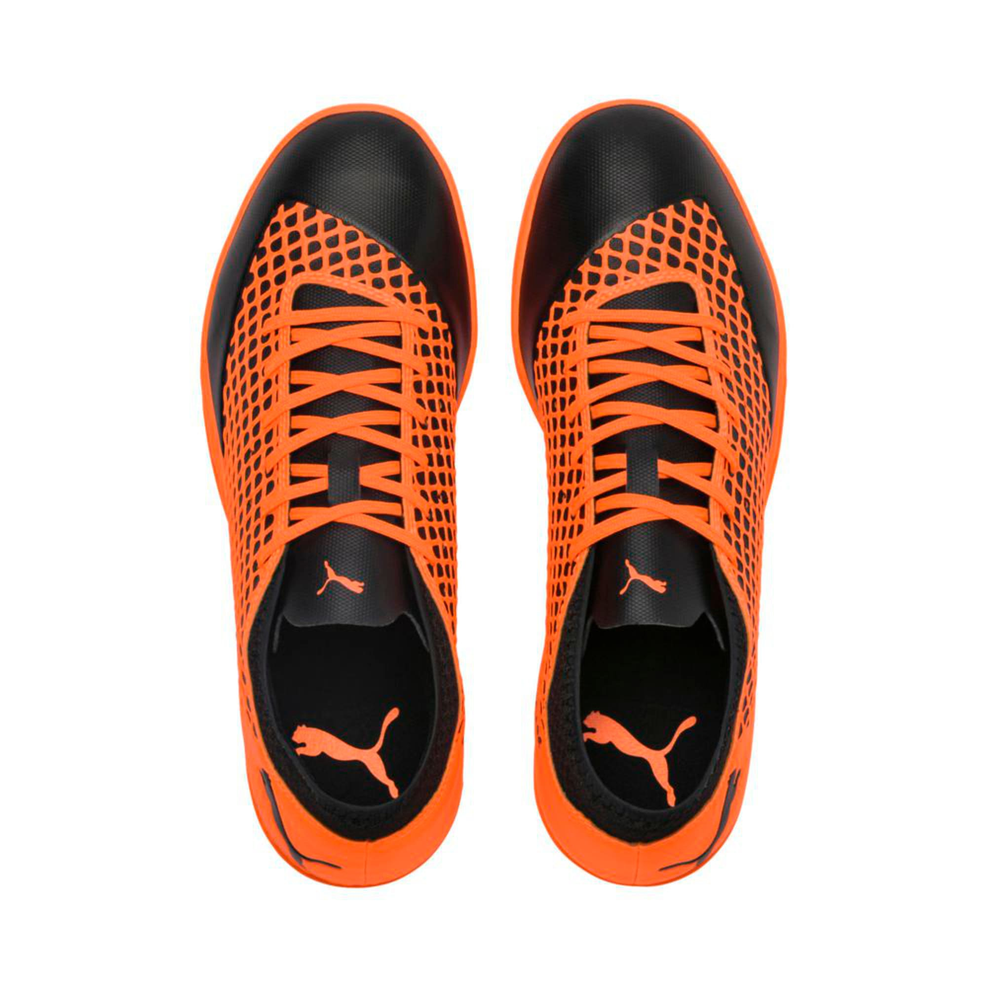Thumbnail 4 of FUTURE 2.4 IT  Football Shoes, Black-Orange, medium-IND